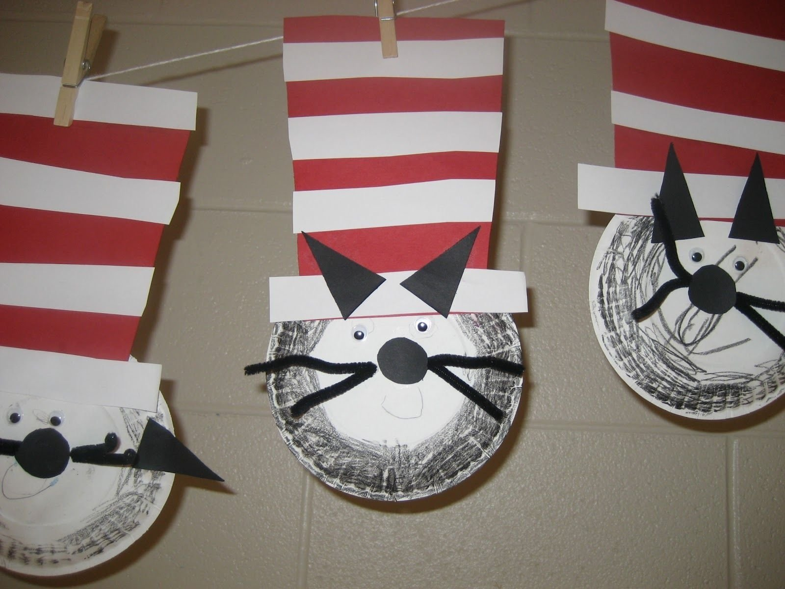 10 Most Popular Cat In The Hat Craft Ideas dr seuss classroom activities kids this was a great