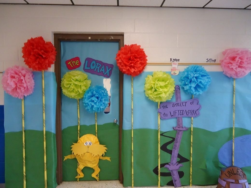 10 Attractive Dr. Seuss Decorating Ideas For Classroom dr seuss classroom door design dr seuss door decorating ideas 2020