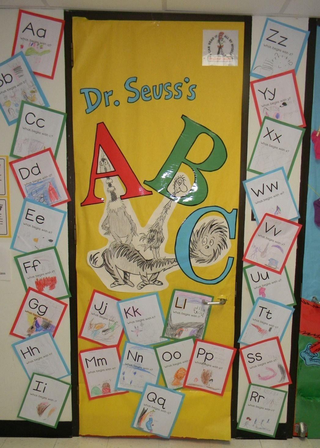 dr.seuss classroom ideas |  school takes part in read across