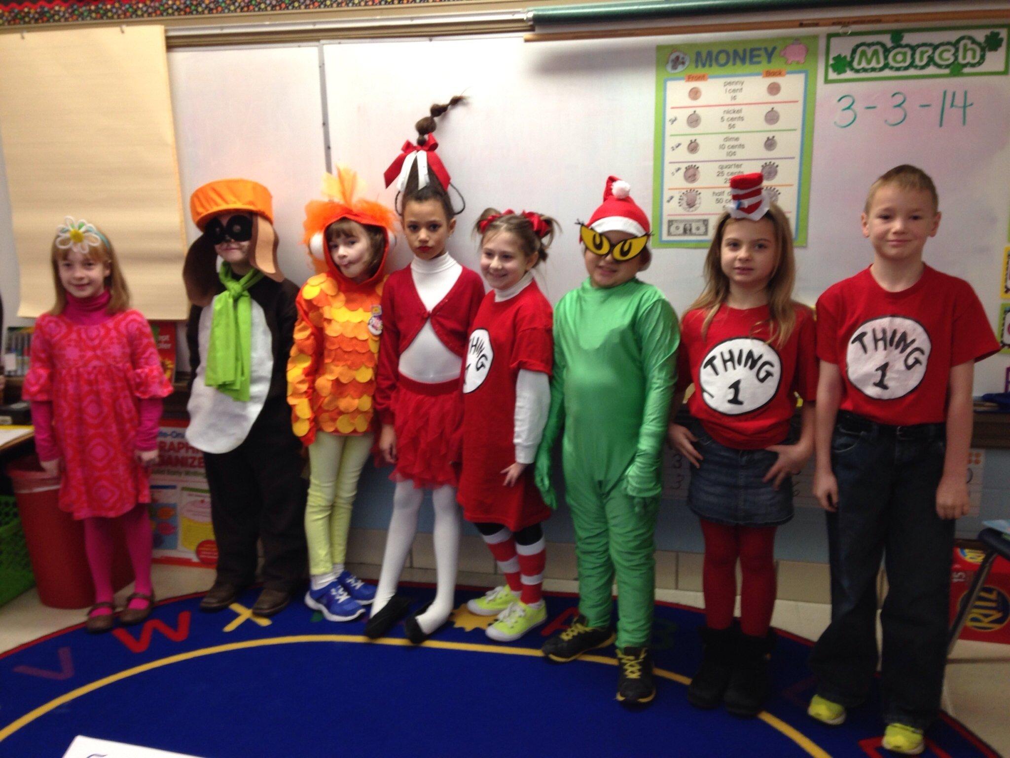 dr. seuss day dress-up. | dress-up ideas for books | pinterest | school