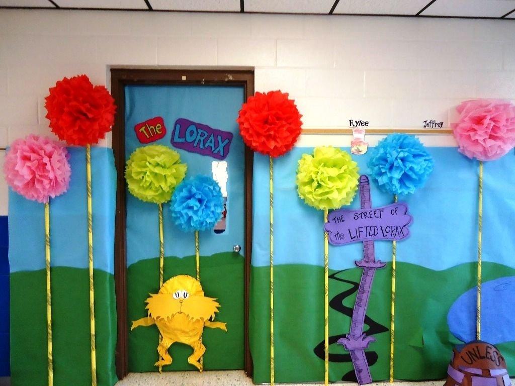 10 Attractive Dr Seuss Classroom Decorating Ideas dr seuss decorations dr seuss decorating ideas for parties 2020