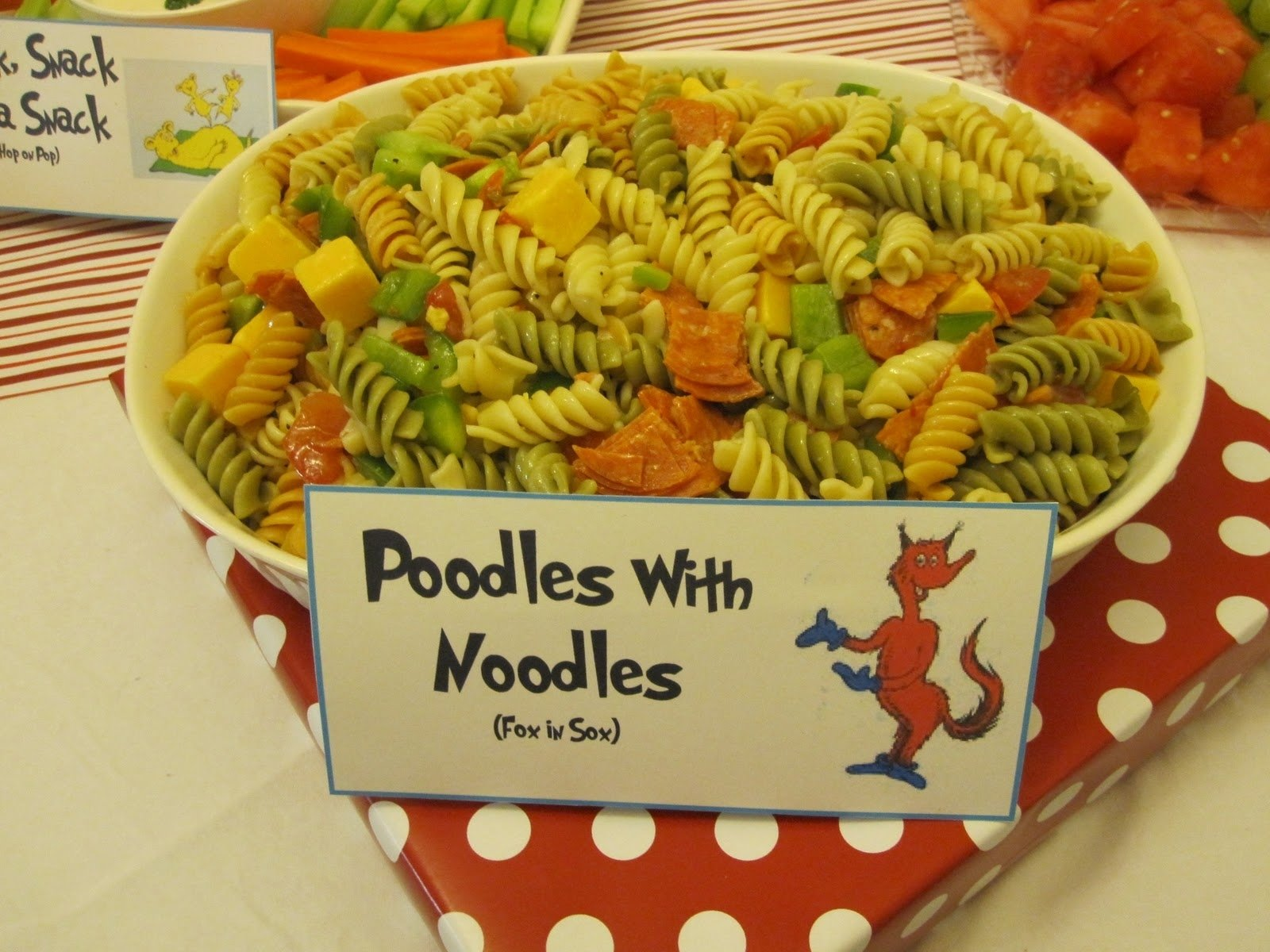 10 Unique Dr Seuss Baby Shower Food Ideas