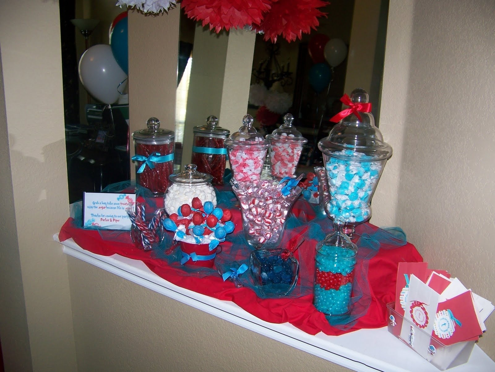 10 Lovely Thing 1 And Thing 2 Birthday Party Ideas dr seuss thing 1 thing 2 birthday party giggles galore 3 2020