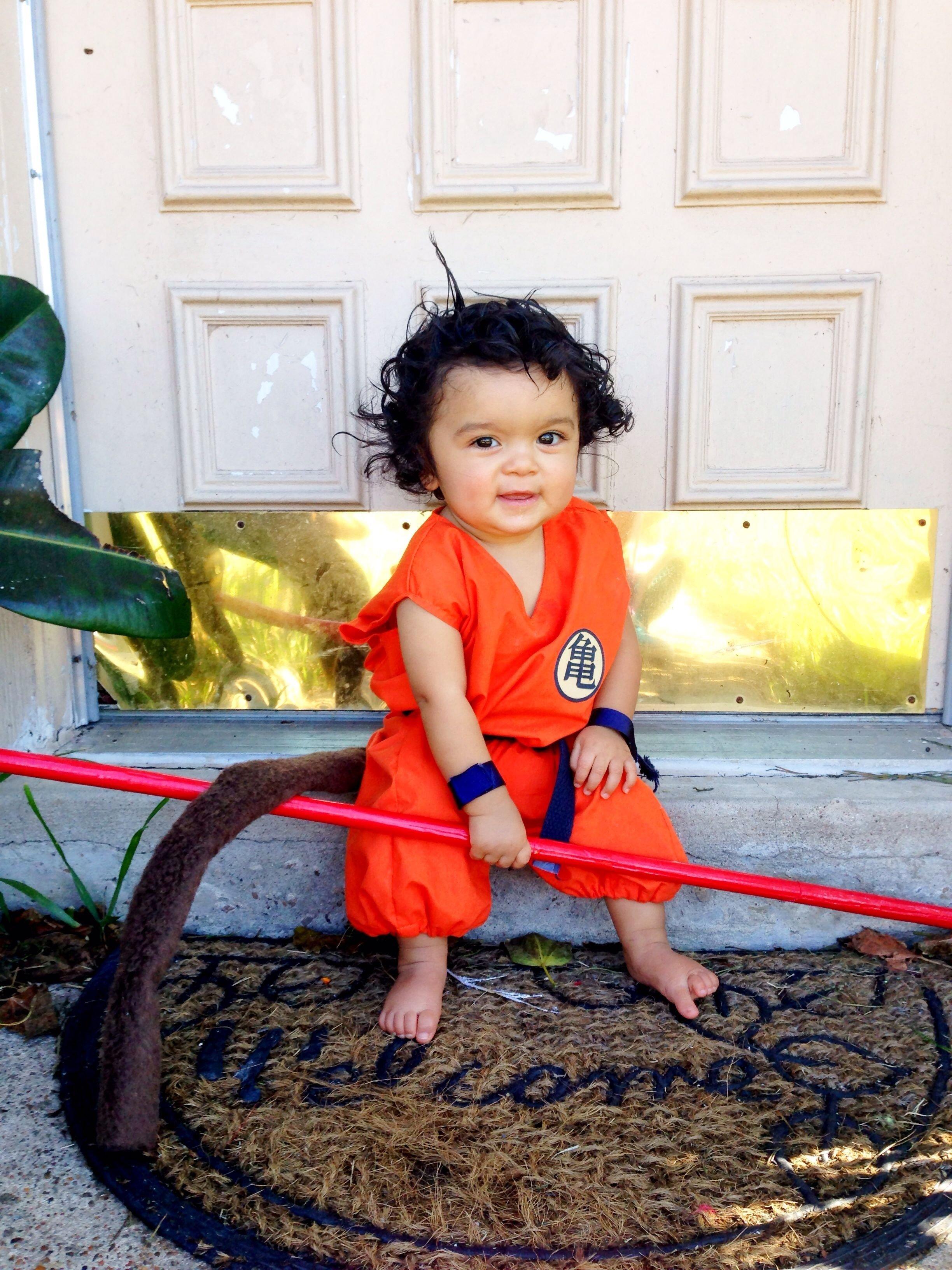 10 Attractive Baby Costume Ideas For Boys dragonball cosplay comic con goku baby goku goku costume baby 2020