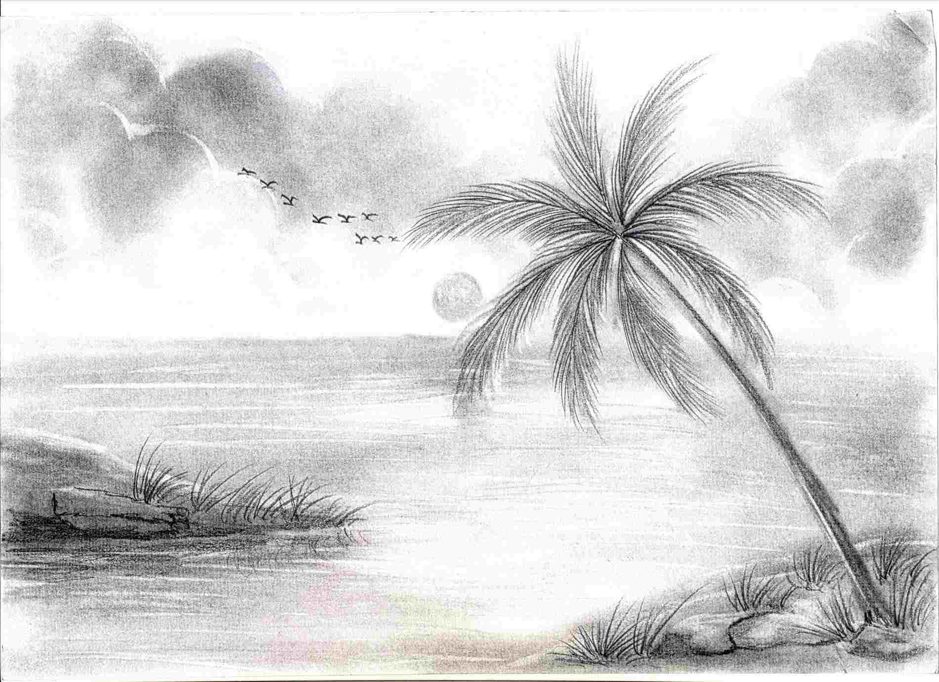 10 Wonderful Ideas For Drawings In Pencil drawing ideas pencil sketch