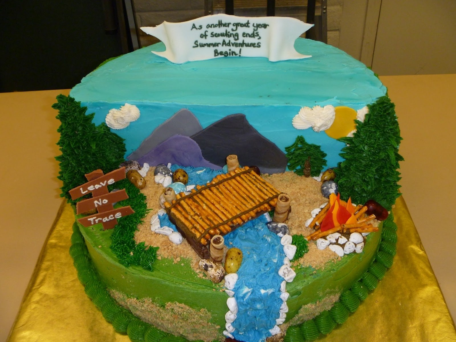 10 Cute Cub Scout Cake Decorating Ideas dreaming in buttercream cub scout crossover cake 2020