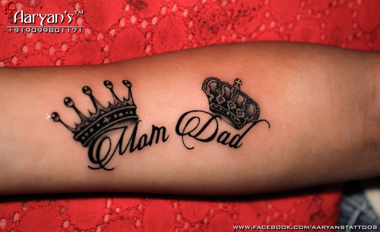 10 Lovable Mom And Dad Tattoo Ideas dsc 0012 editedcopy 1600x979 rushabh pinterest tattoo