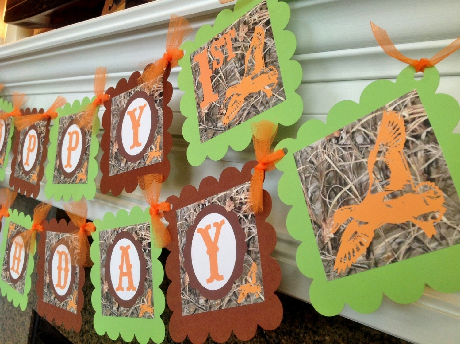 duck dynasty birthday party ideas - decorating of party