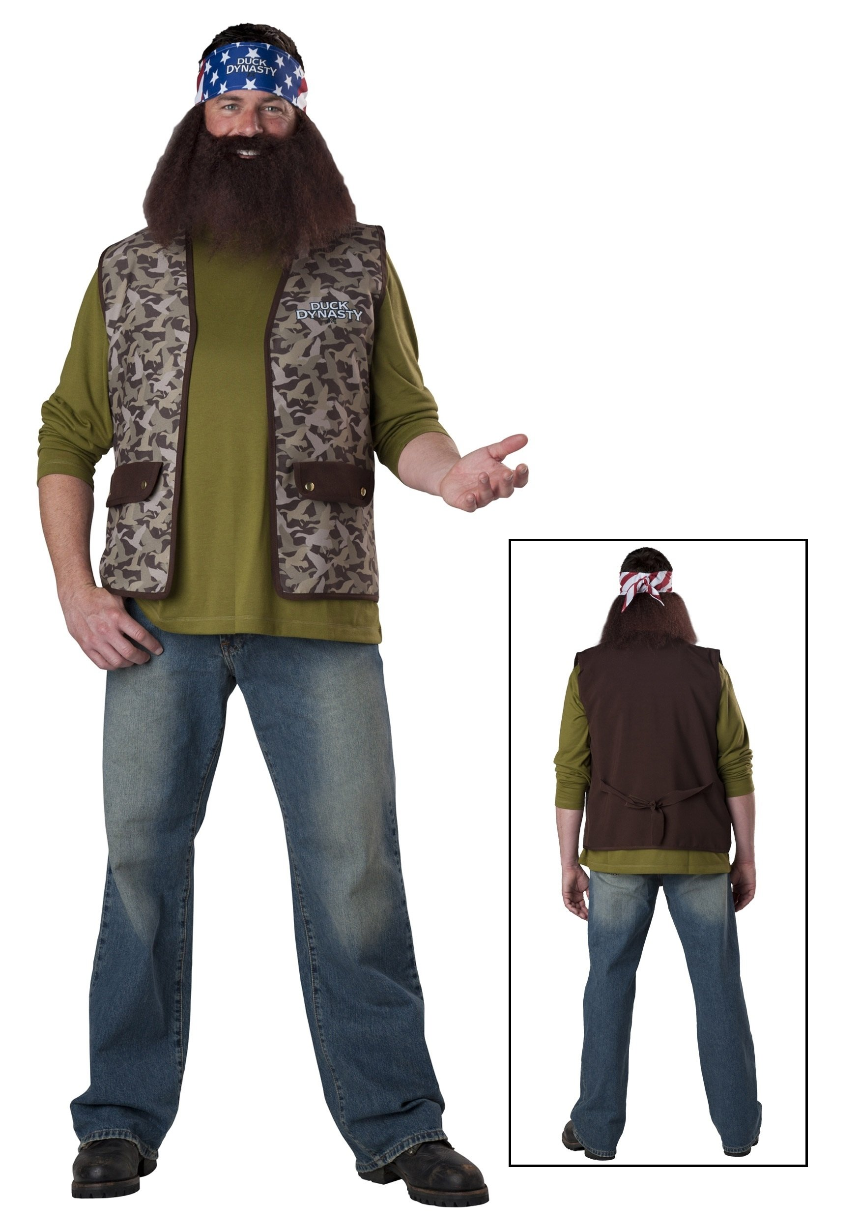 duck dynasty willie costume - halloween costumes