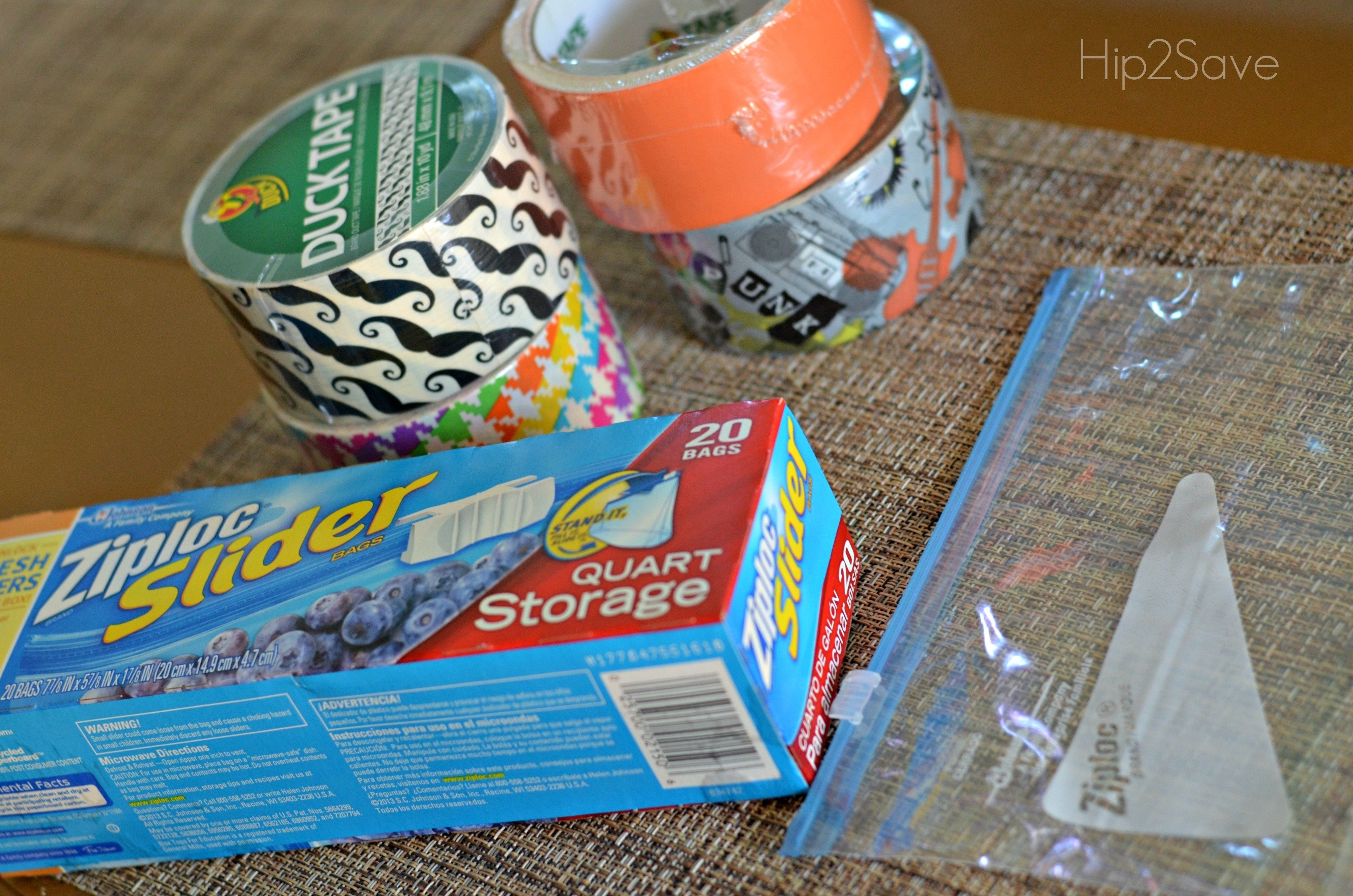 10 Spectacular Duct Tape Ideas For Kids duct tape pencil pouches easy back to school craft hip2save 2 2020