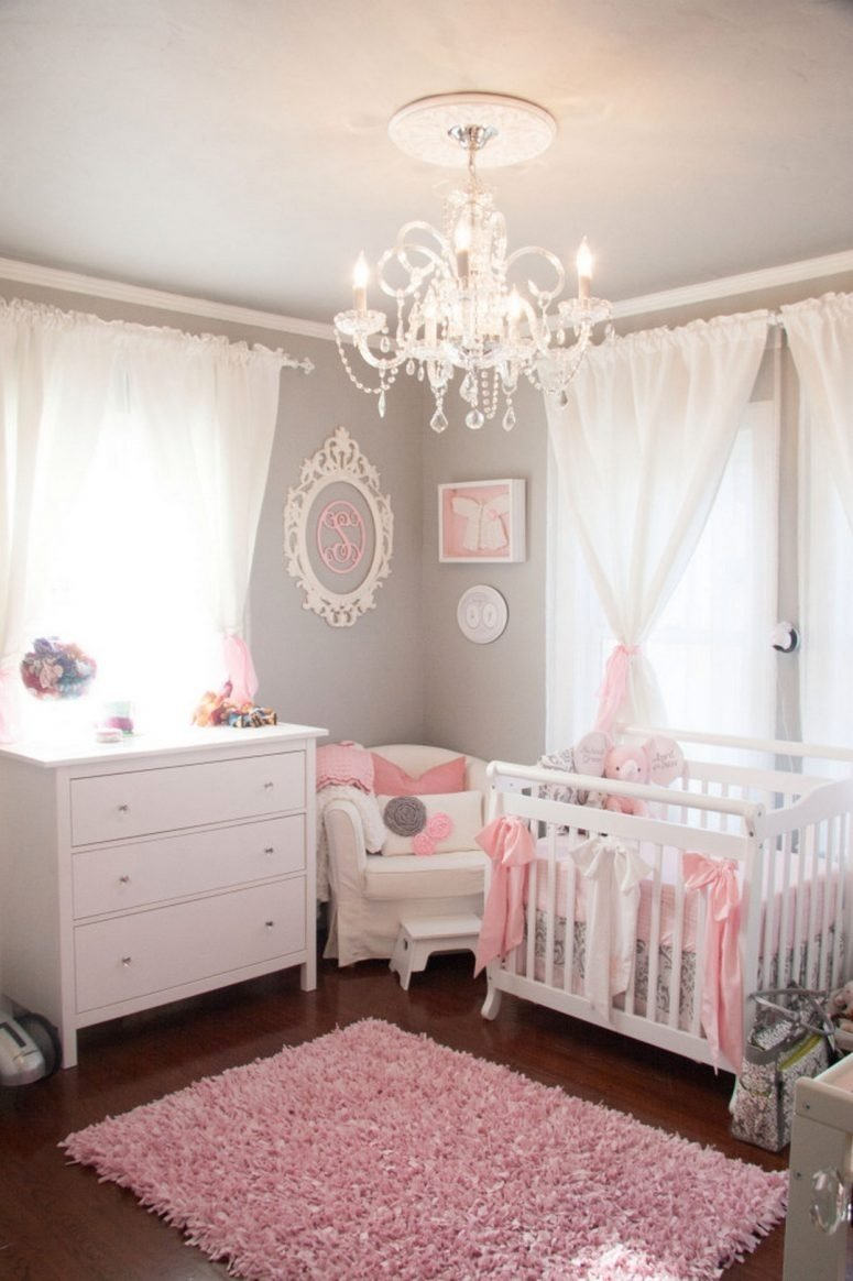 10 Most Recommended Ideas For Baby Girl Room e2889a 33 most adorable nursery ideas for your baby girl 3
