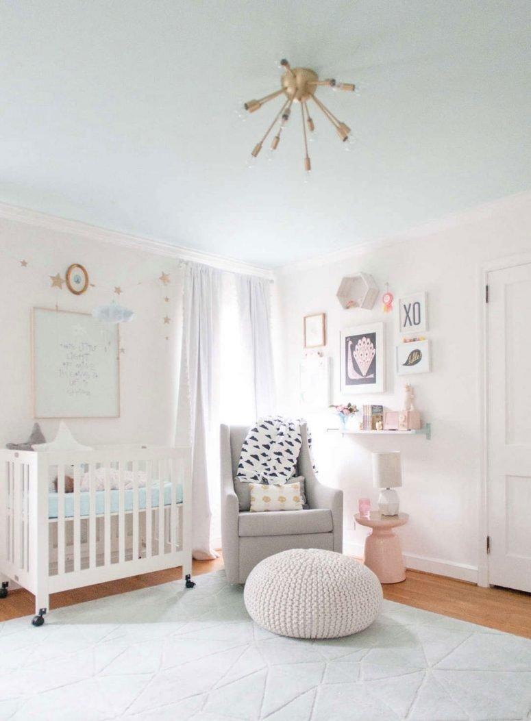 10 Cute Baby Room Ideas For A Girl e2889a 33 most adorable nursery ideas for your baby girl 2020