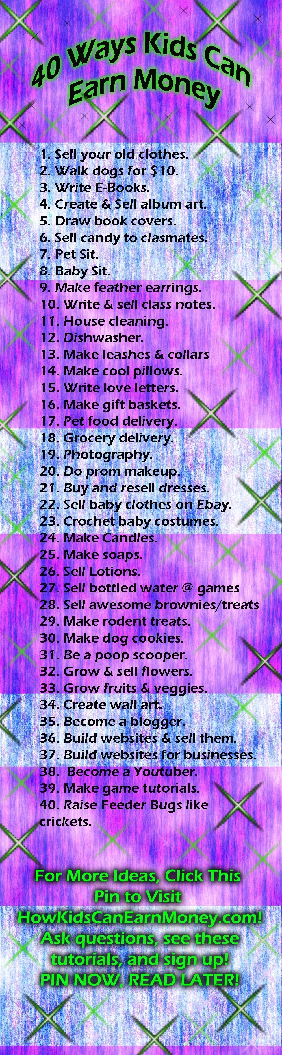 10 Attractive Ideas For Kids To Make Money e28b86100 ways how to make money as a kid todaye28b86 1 2020