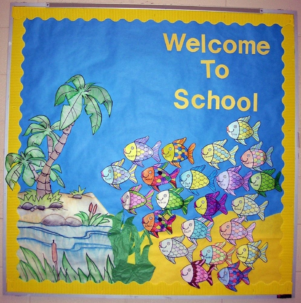10 Gorgeous Bulletin Board Ideas For Kindergarten e29886 visit our blog all free teacher resources where everything is 2020