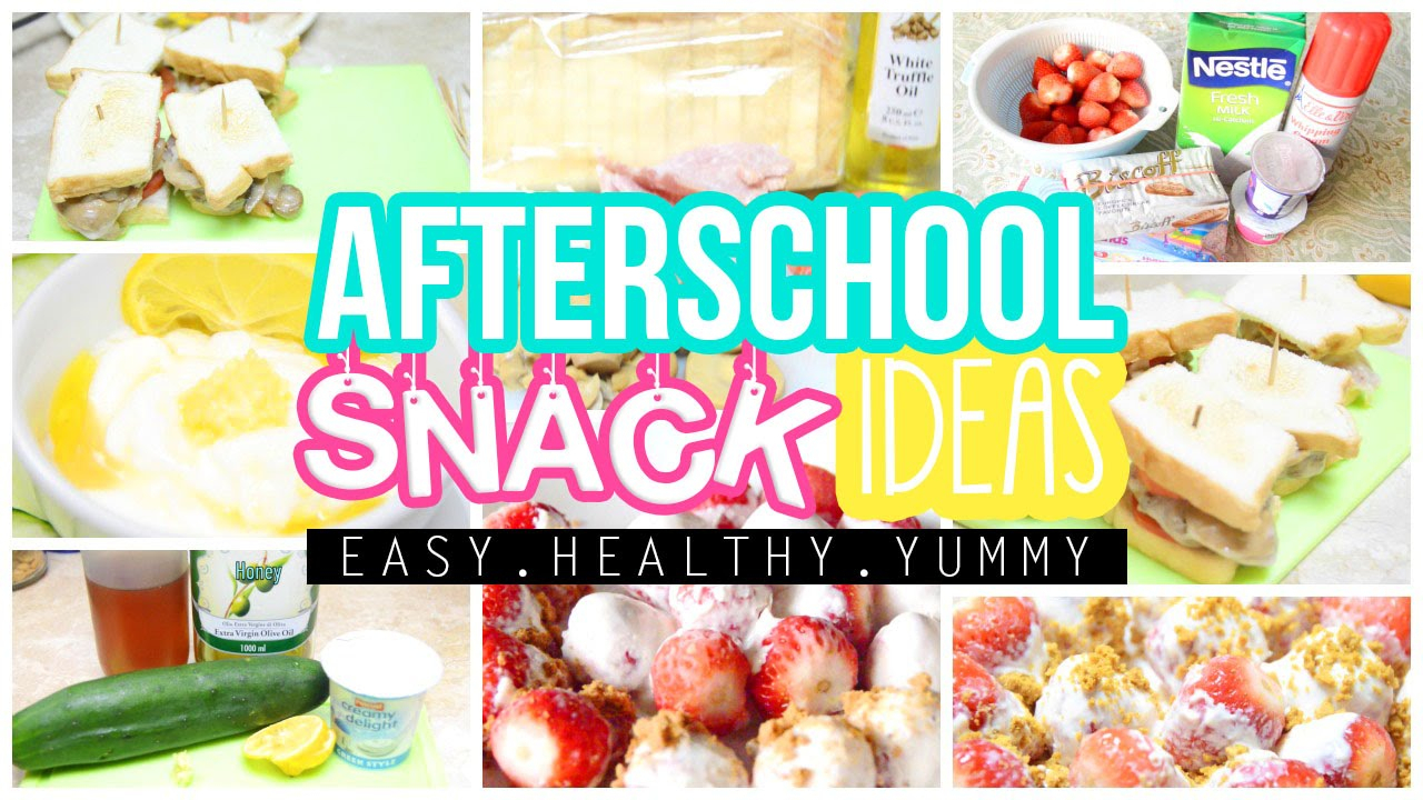 10 Stunning Ideas For After School Programs e299a1 easy healthy yummy after school snack ideas alohakatiex 1