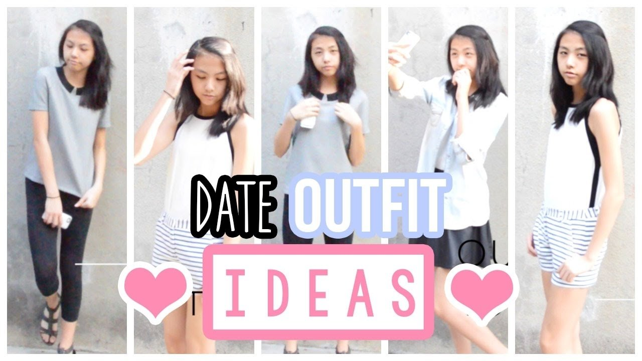 10 Most Recommended First Date Ideas For Teenagers e299a1 mini date lookbook valentines day outfit ideas alohakatiex