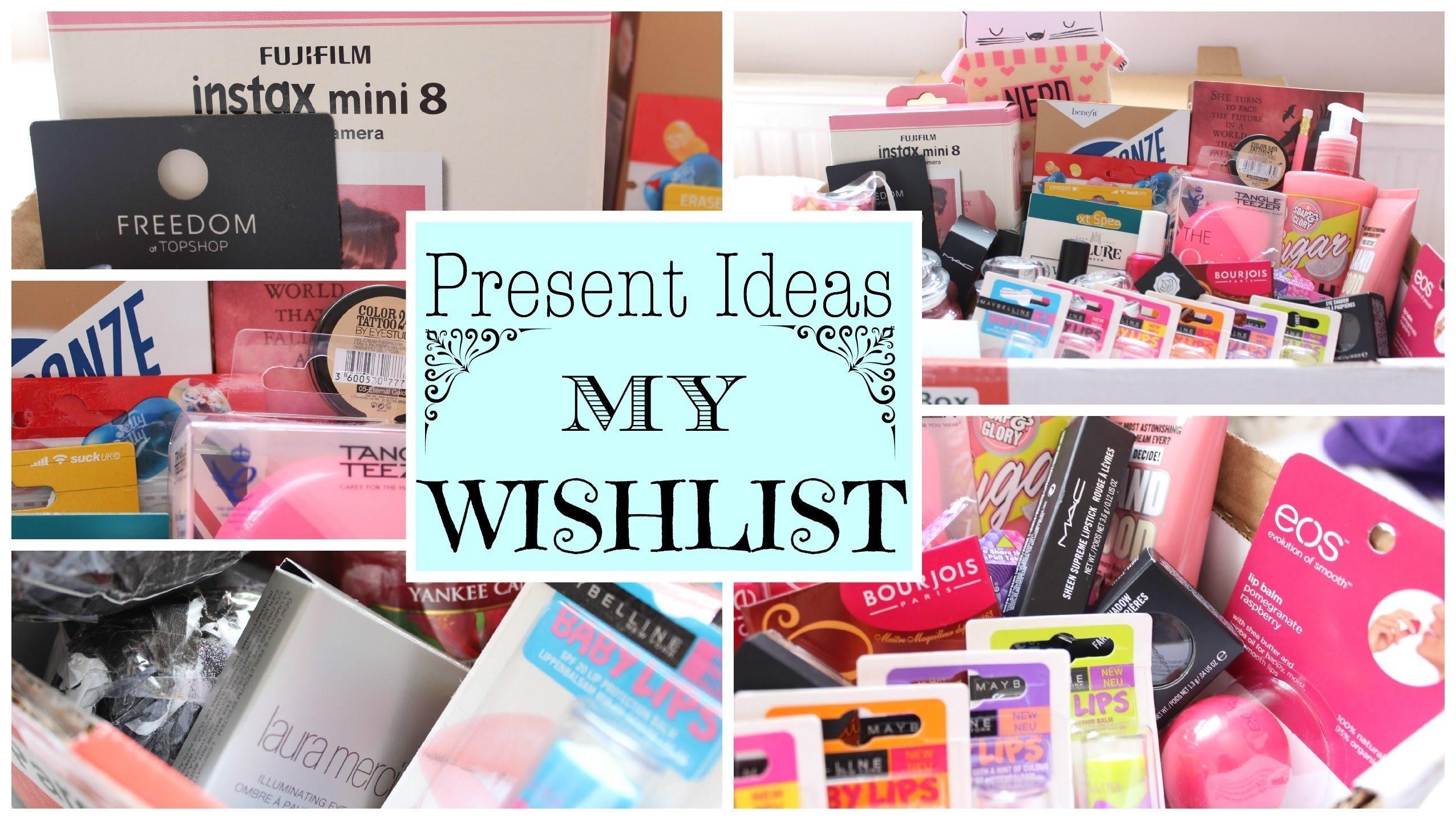 10 Spectacular Birthday Present Ideas For Teenage Girls e299a1 present ideas my wishlist e299a1 youtube 2021