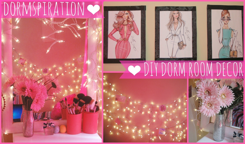 10 Cute Dorm Room Decorating Ideas Diy e299a5 dormspiration diy dorm room decor e299a5 youtube