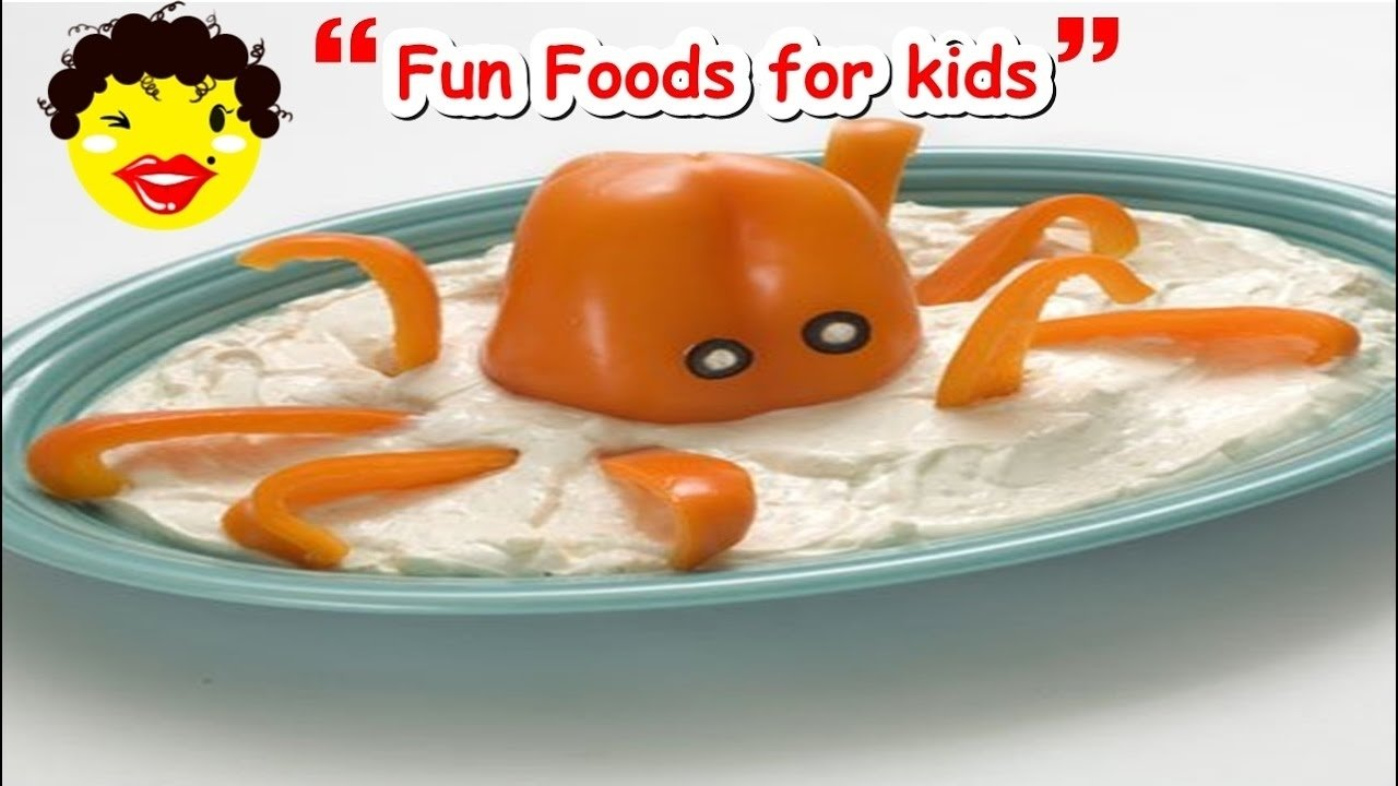 ❂ fun food ideas for kids ❂ top 10 easy recipes for children to
