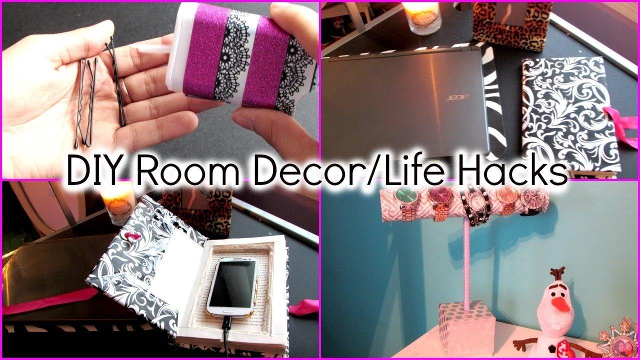 10 Amazing Ideas To Spice Up Your Bedroom e29da4 diy room decor life hacks e29da4 youtube 2020