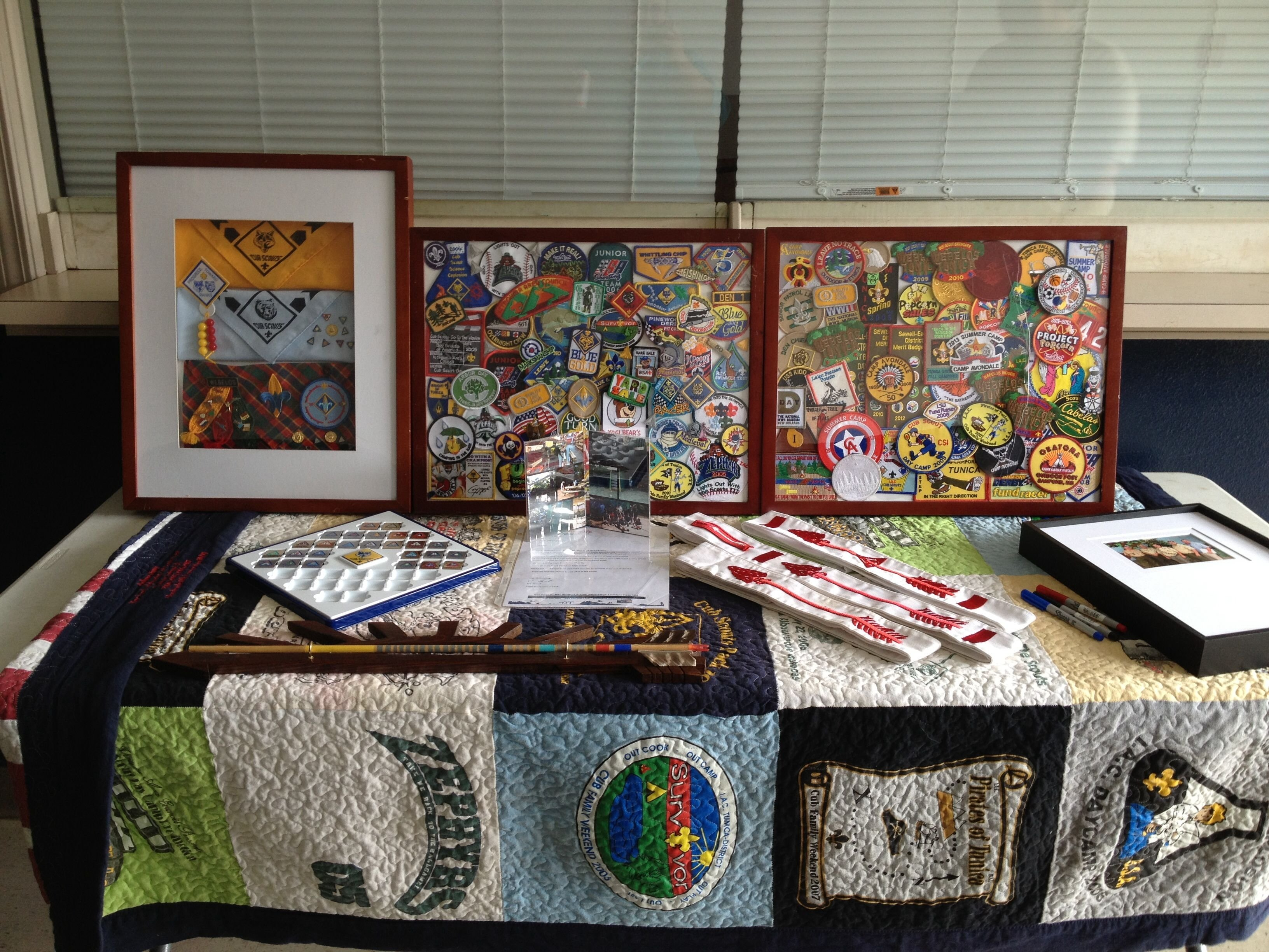 10 Spectacular Boy Scout Court Of Honor Ideas eagle court of honor display table eagle court of honor ideas 1
