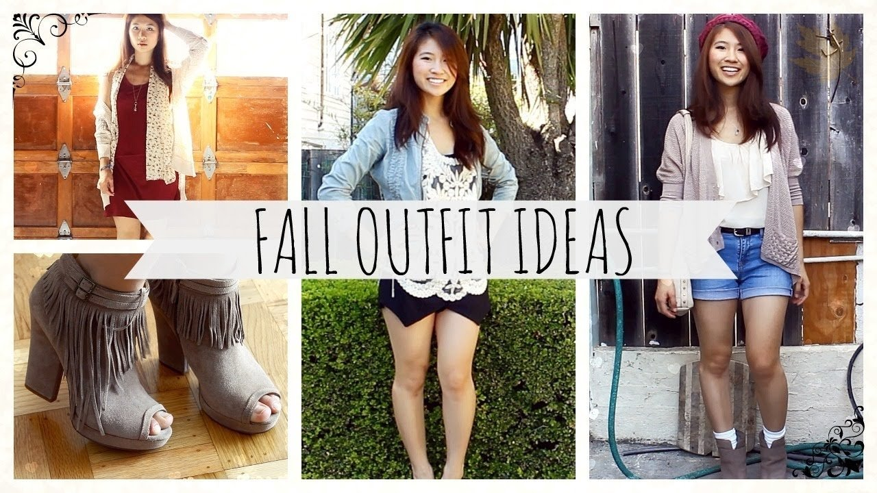 10 Great Cute Outfit Ideas For Fall early fall outfit ideas 2013 youtube
