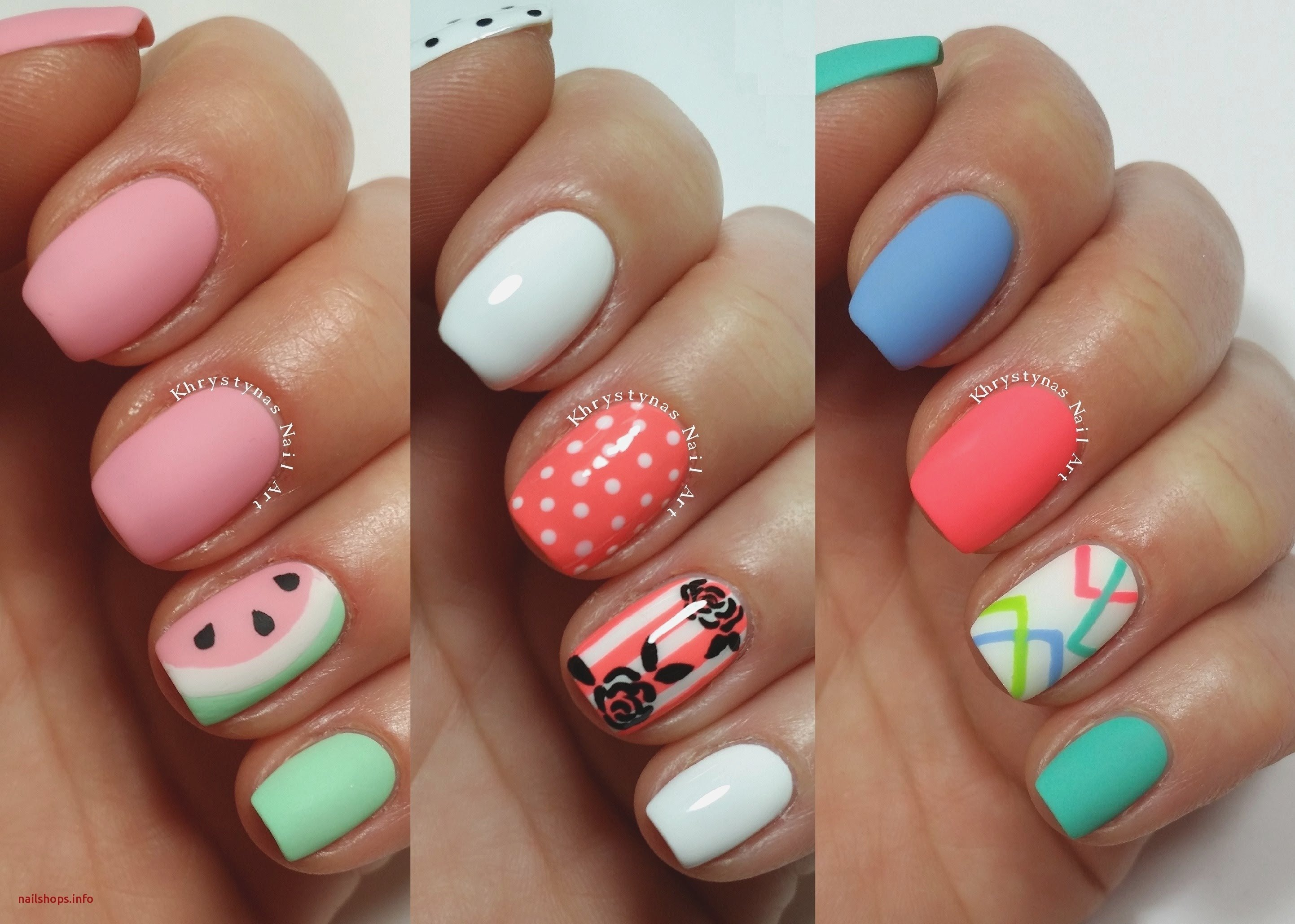 10 Nice Nail Design Ideas For Short Nails