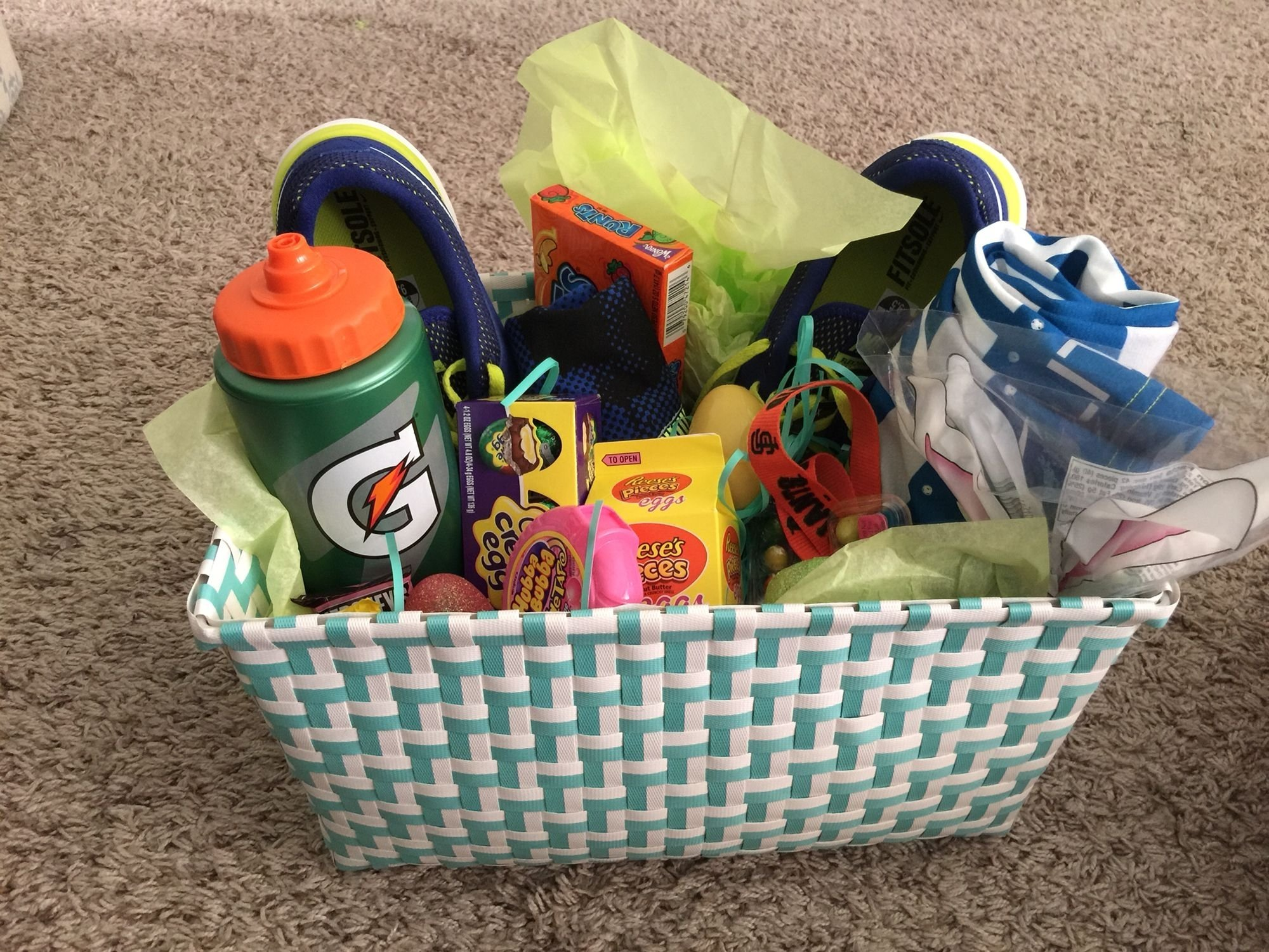 10 Most Popular Easter Basket Ideas For Teenagers easter basket for teen boy some bunnys comin to town 2021