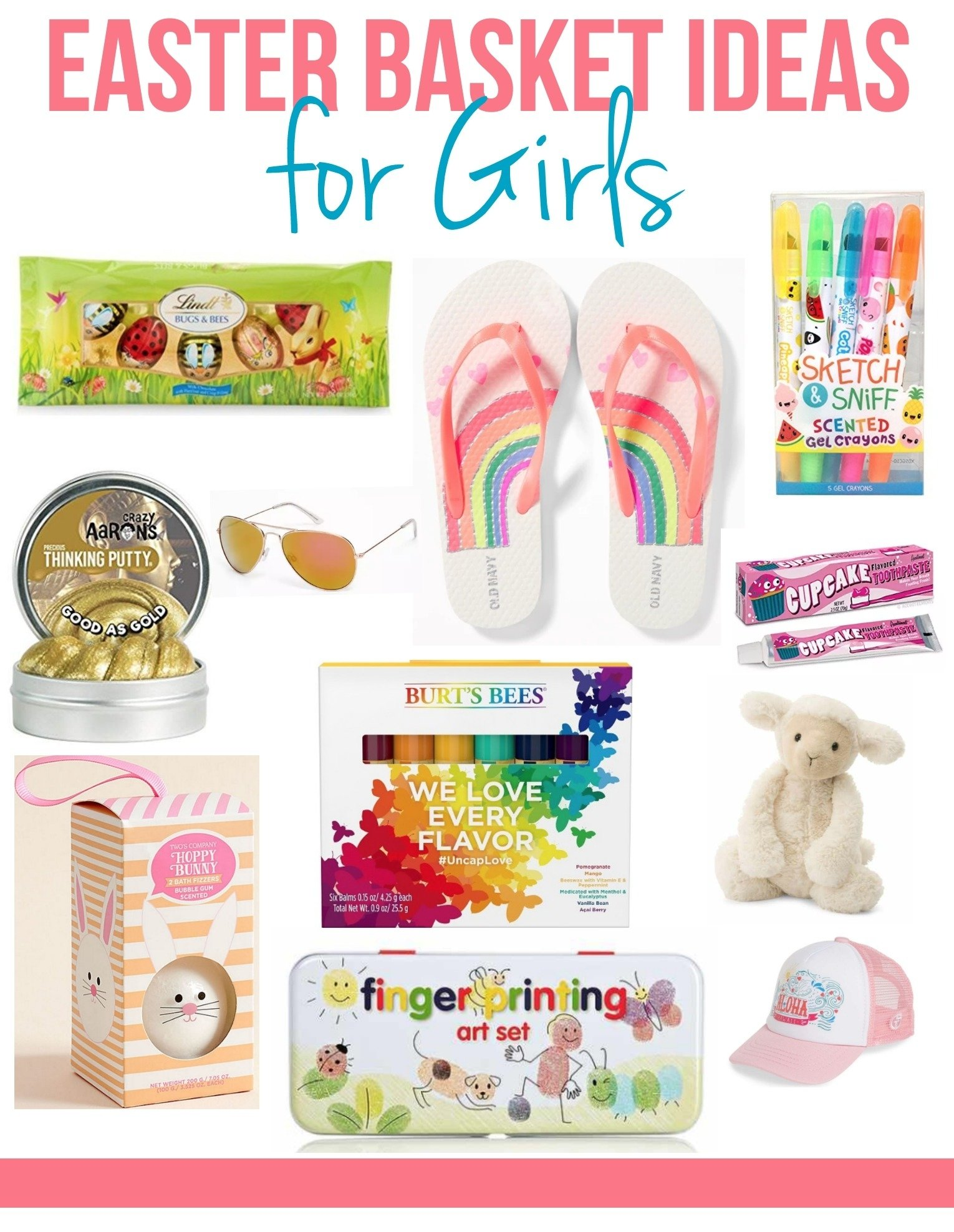 easter basket ideas for girls - my frugal adventures
