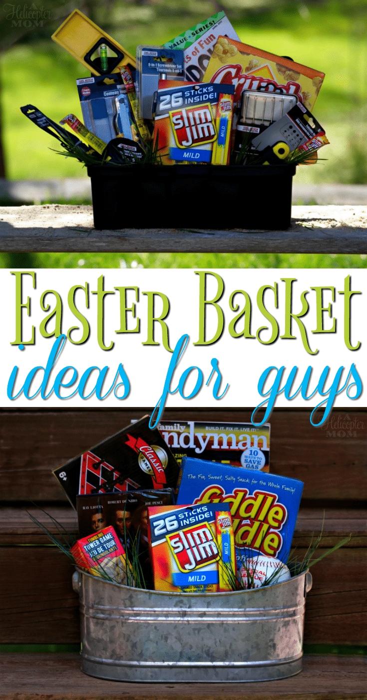 10 Elegant Easter Basket Ideas For Husband easter basket ideas for guys a helicopter mom 2020
