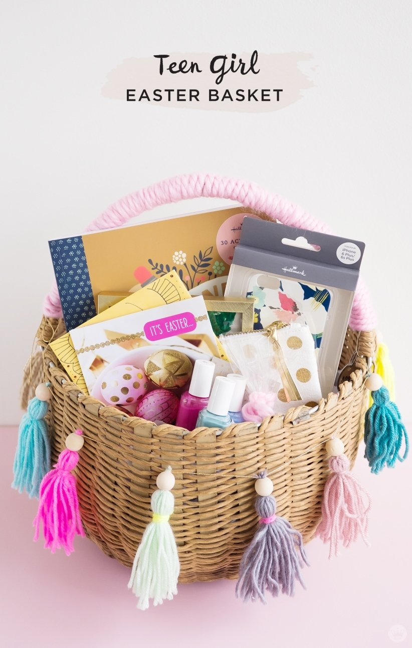 10 Most Popular Easter Basket Ideas For Teenagers easter basket ideas for kids from toddlers to teens think make share 2021
