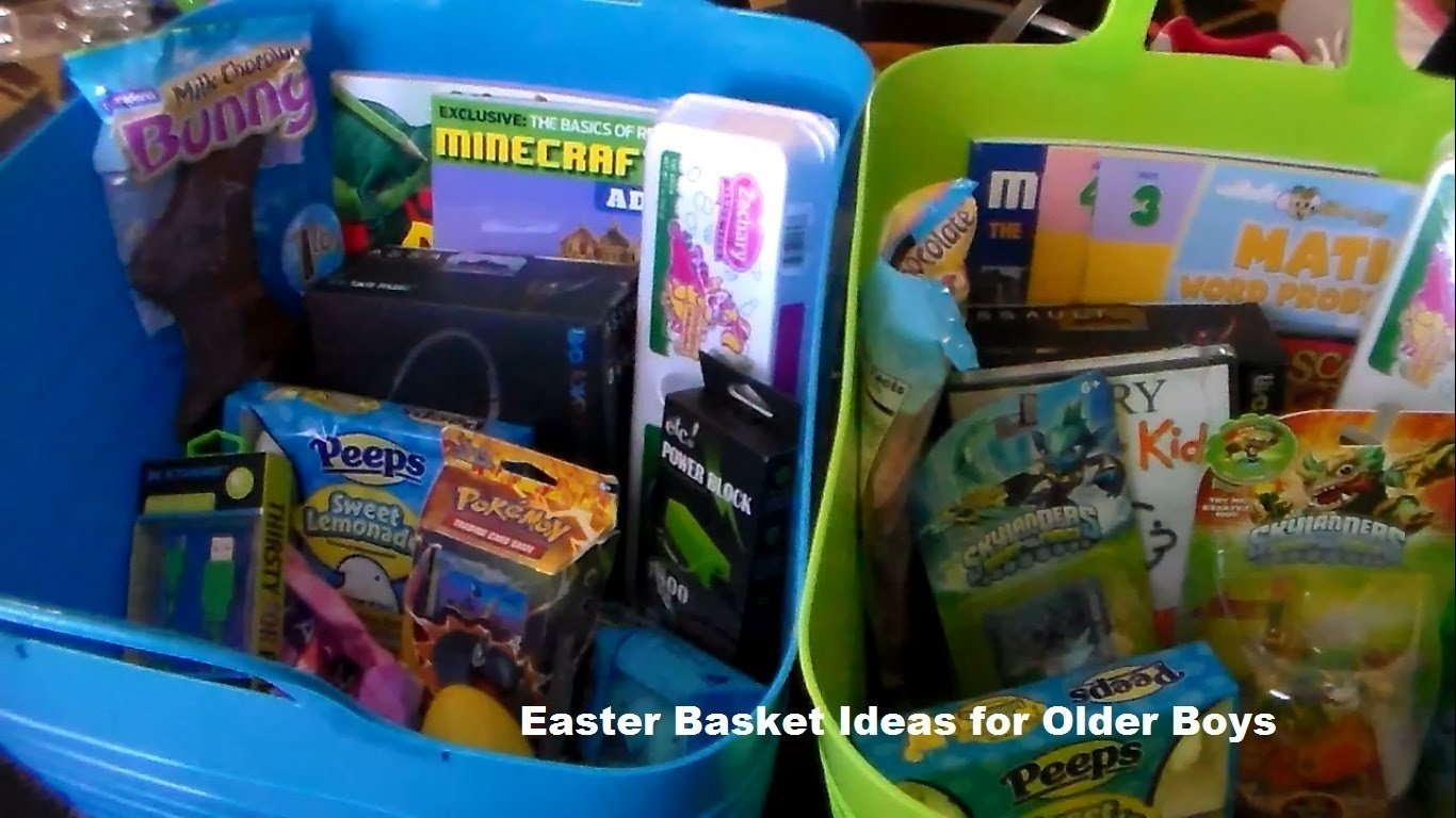 10 Spectacular Easter Basket Ideas For Boys easter basket ideas for older boys youtube 2020