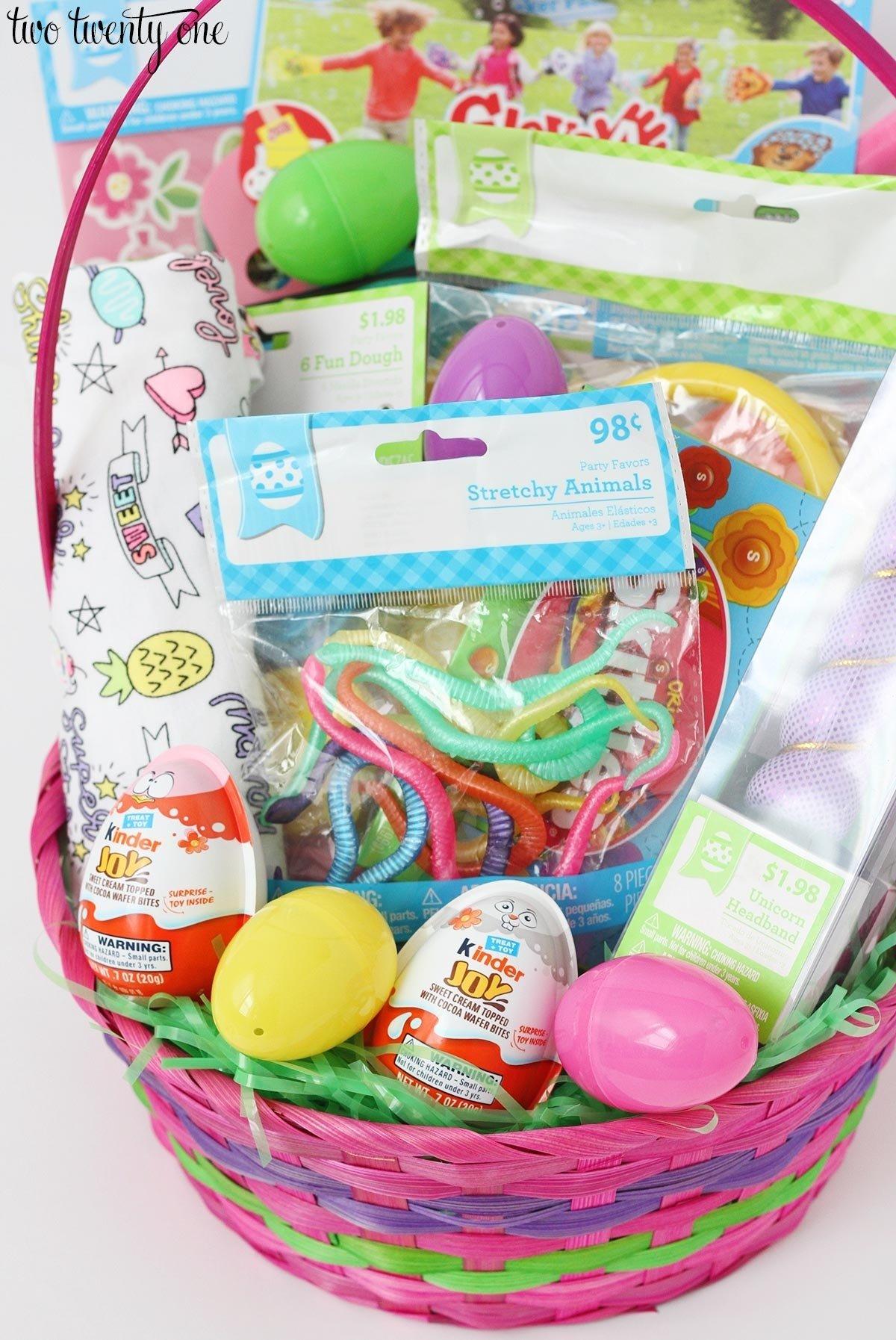 10 Wonderful Easter Basket Ideas For Girls easter basket ideas for toddlers 2021