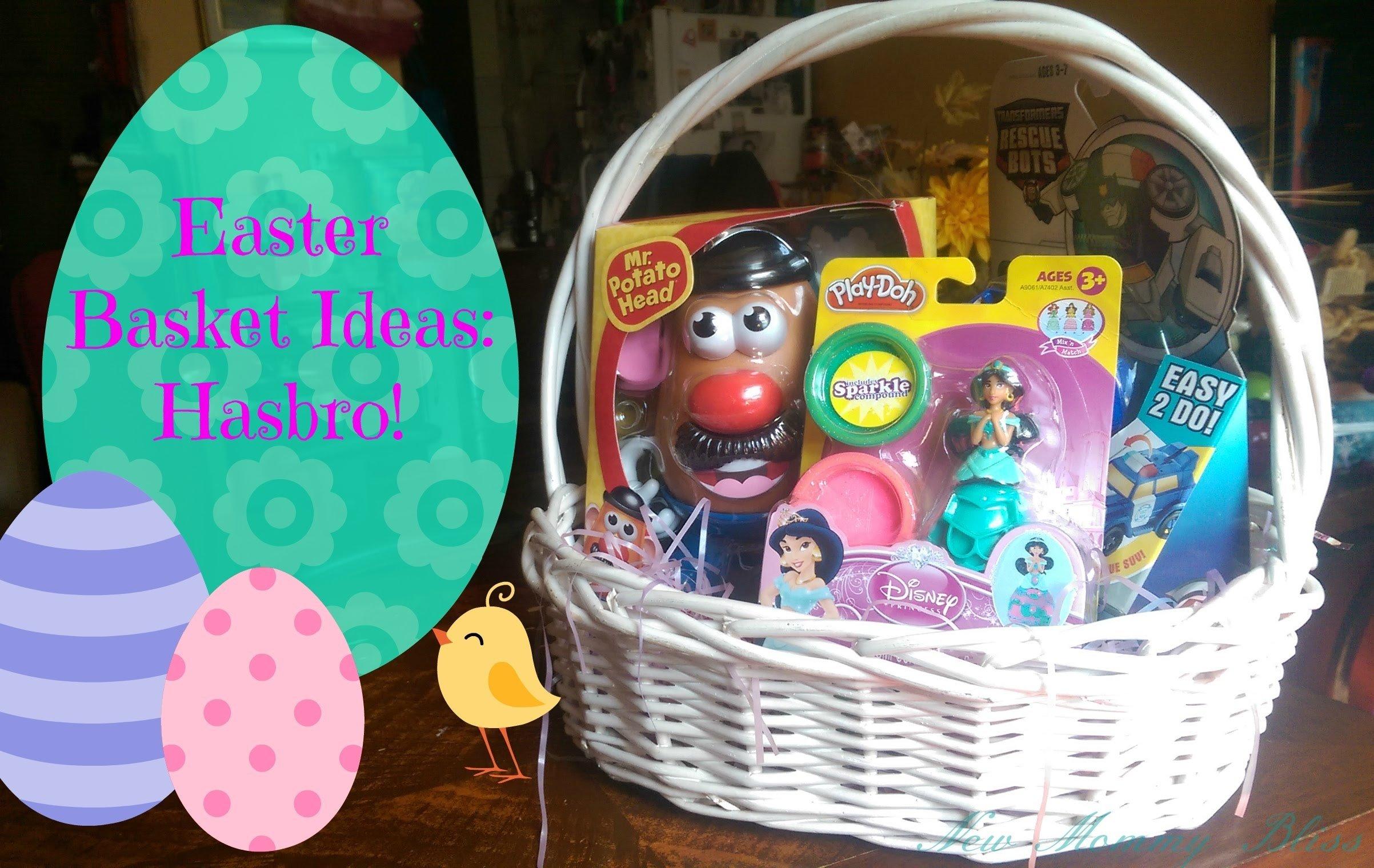 10 Ideal Ideas For Easter Basket Stuffers easter basket ideas hasbro playlikehasbro youtube 2020
