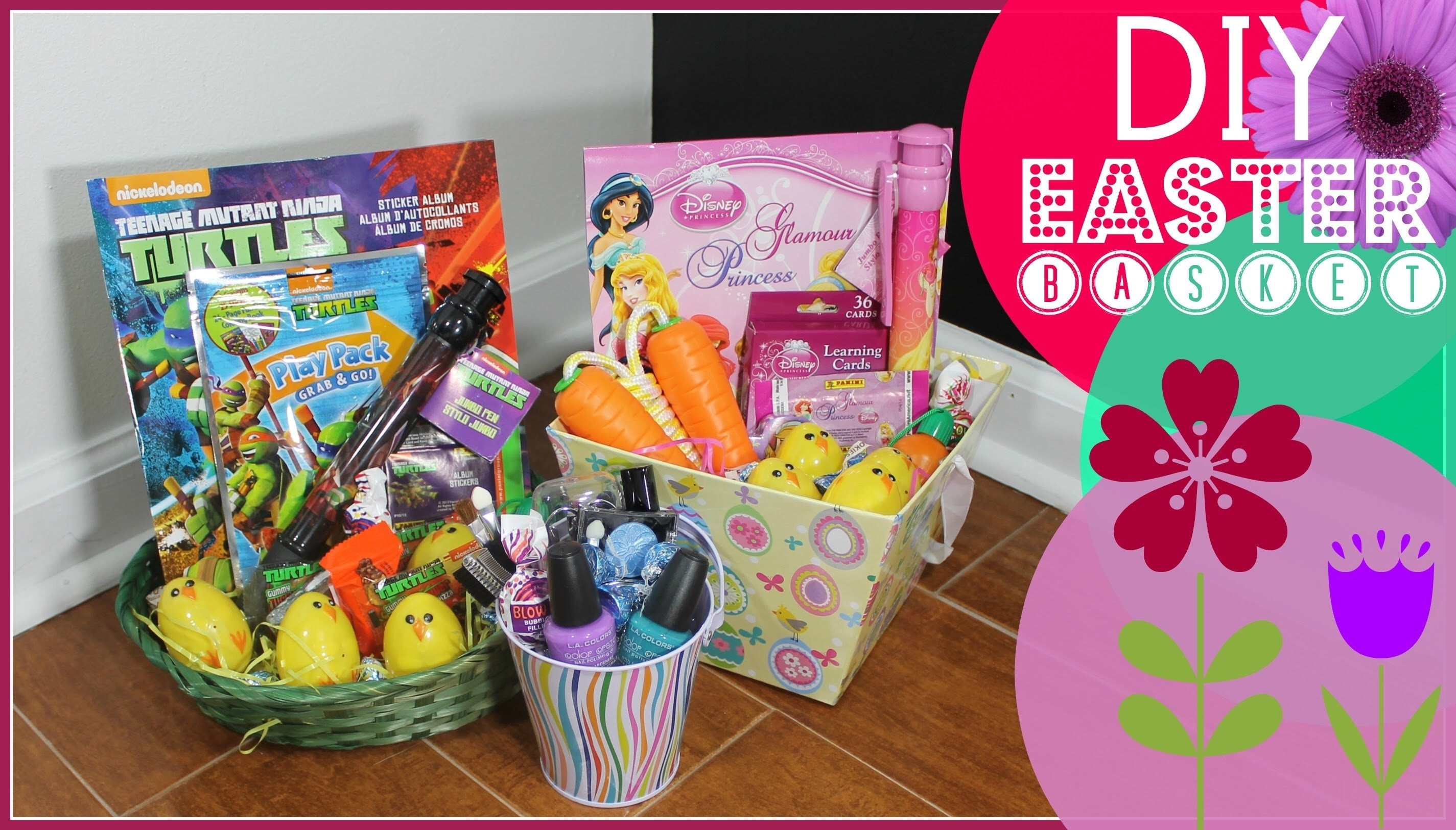 10 Beautiful Easter Baskets Ideas For Adults easter basket ideas youtube 3 2020