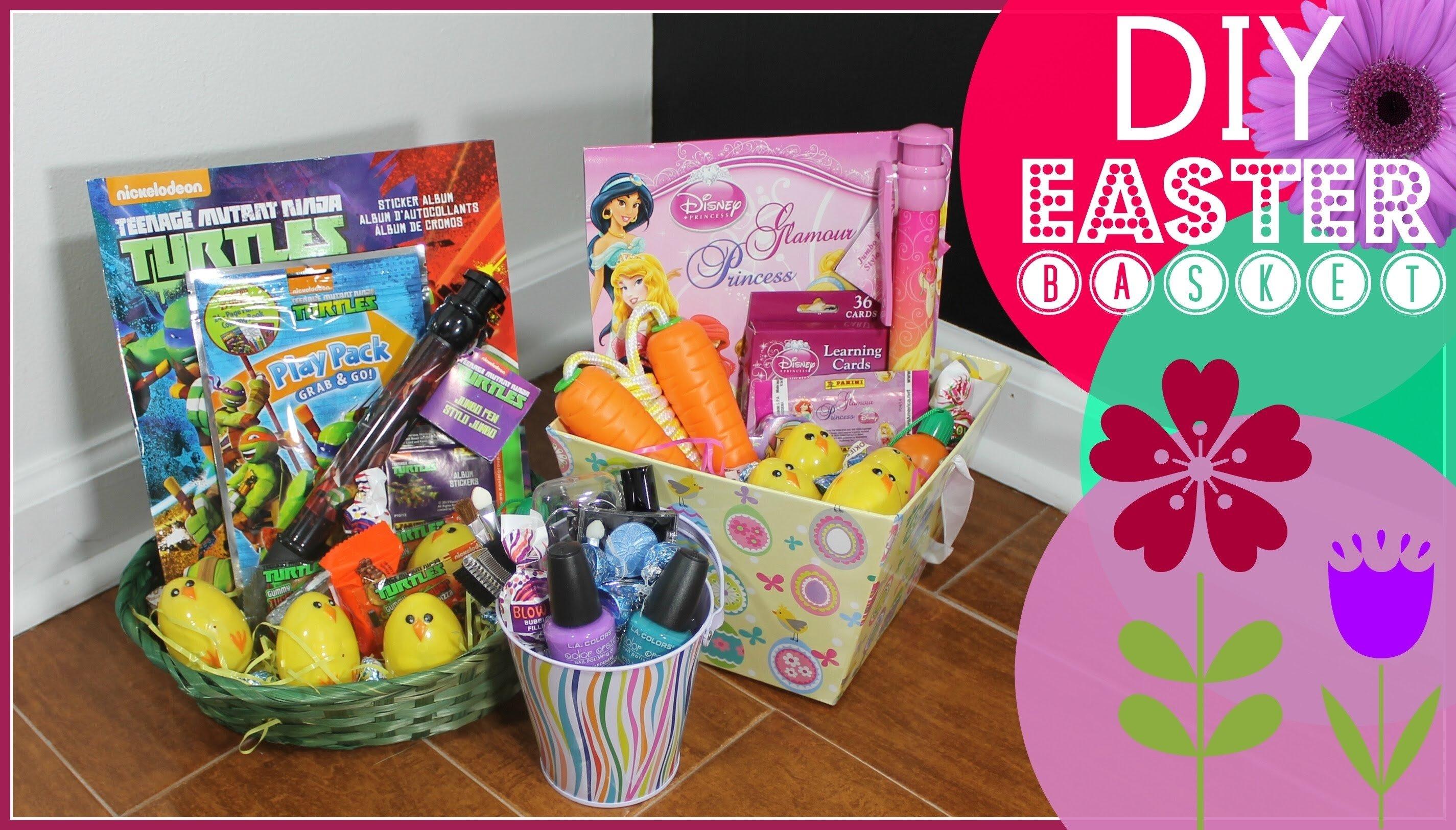 10 Wonderful Easter Basket Ideas For Girls easter basket ideas youtube 2021
