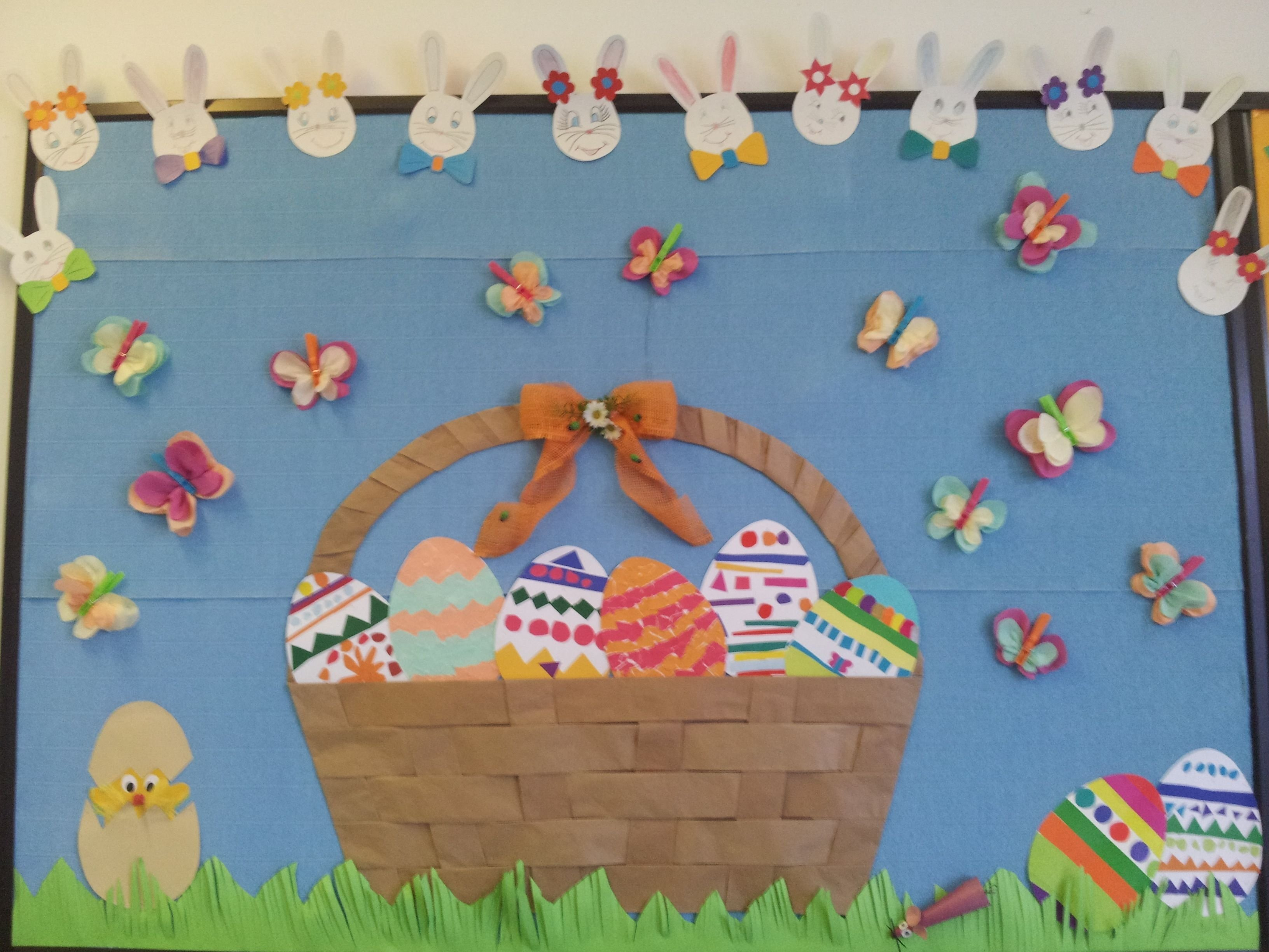 easter bulletin board idea | my school crafts | pinterest | easter