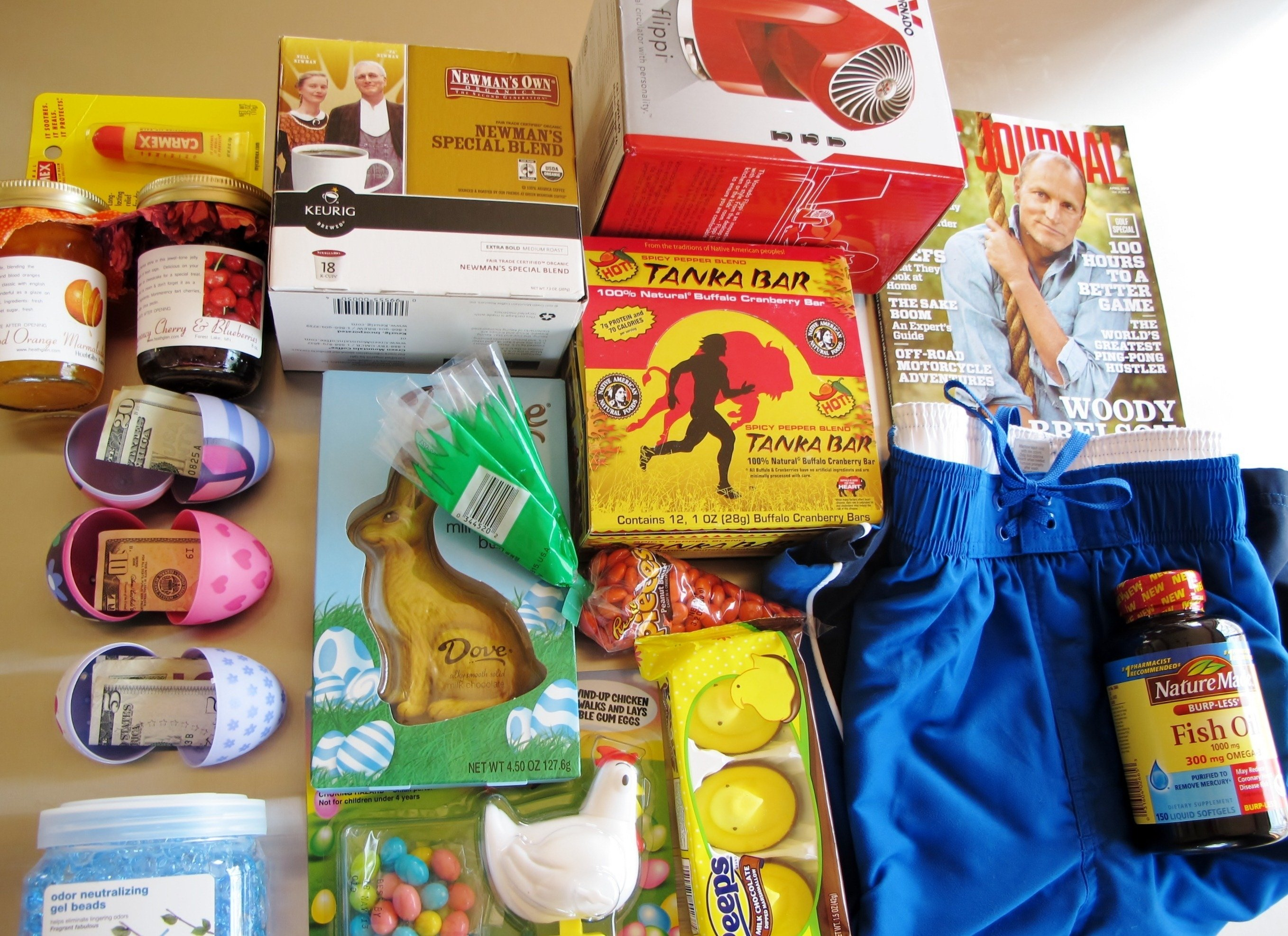 10 Fabulous Ideas For College Care Packages easter care package farm to jar food 2