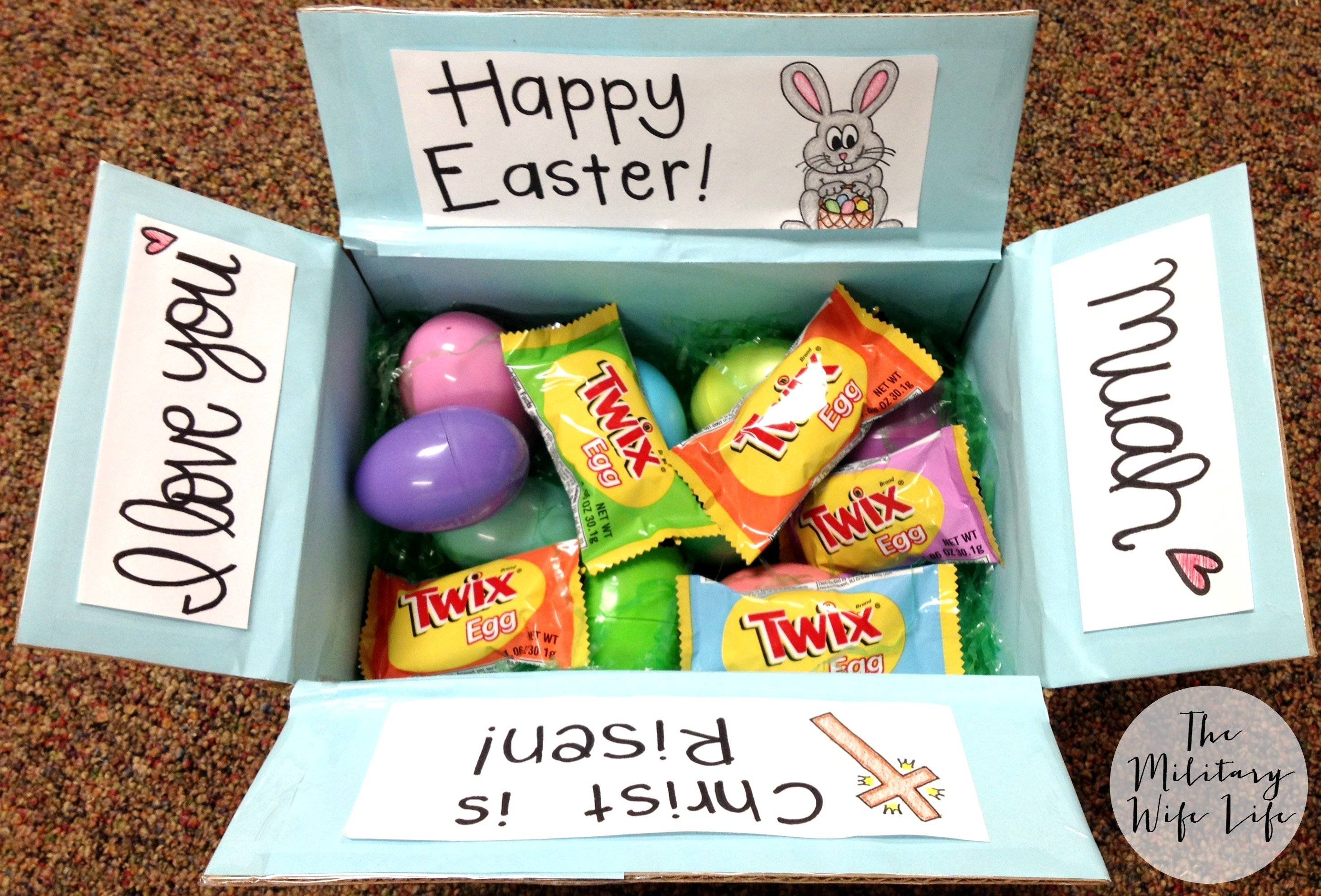 10 Wonderful Ideas For A Care Package easter care package ideas the military wife life 2021