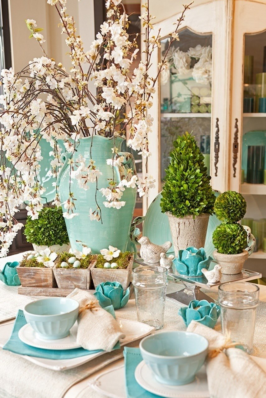10 Best Easter Decorating Ideas Table Setting easter decorating ideas table setting webtechreview 2021