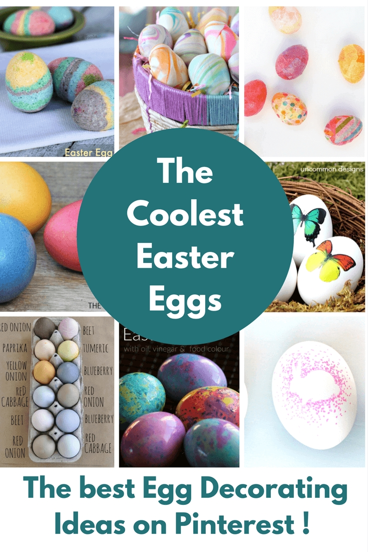 10 Cute Cool Easter Egg Decorating Ideas easter egg decorating ideas 2020