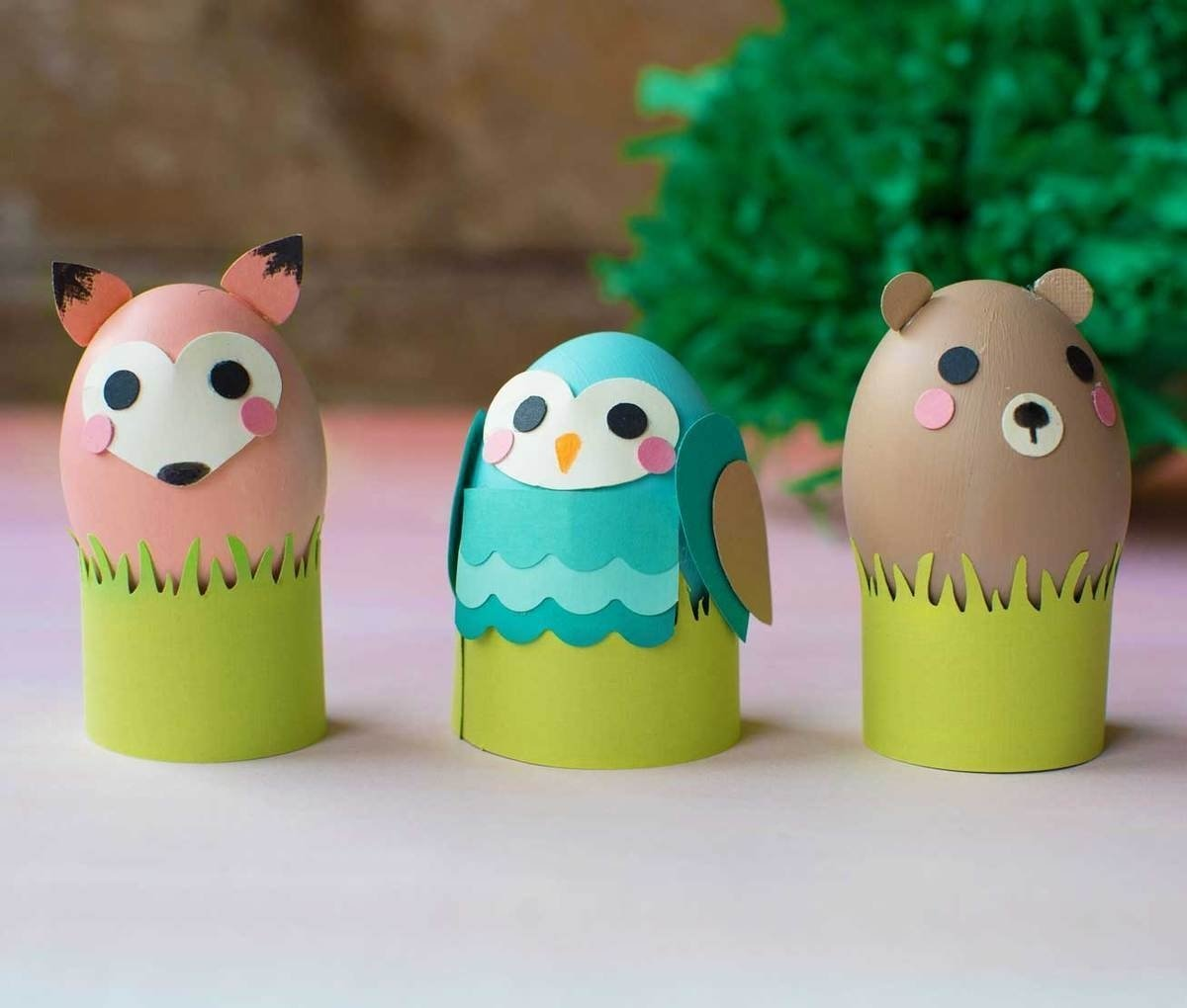 easter egg ideas | decorating easter eggs with fiskars