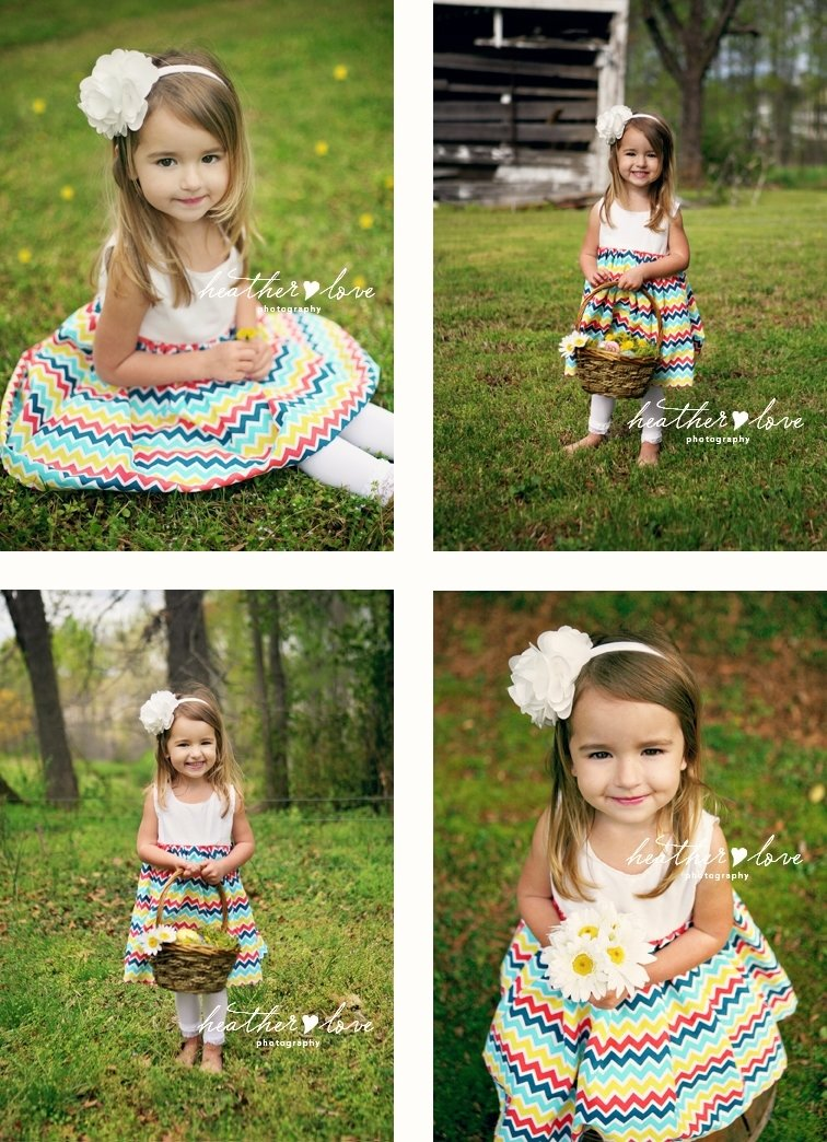 easter photography ideas |  little preview from heather love