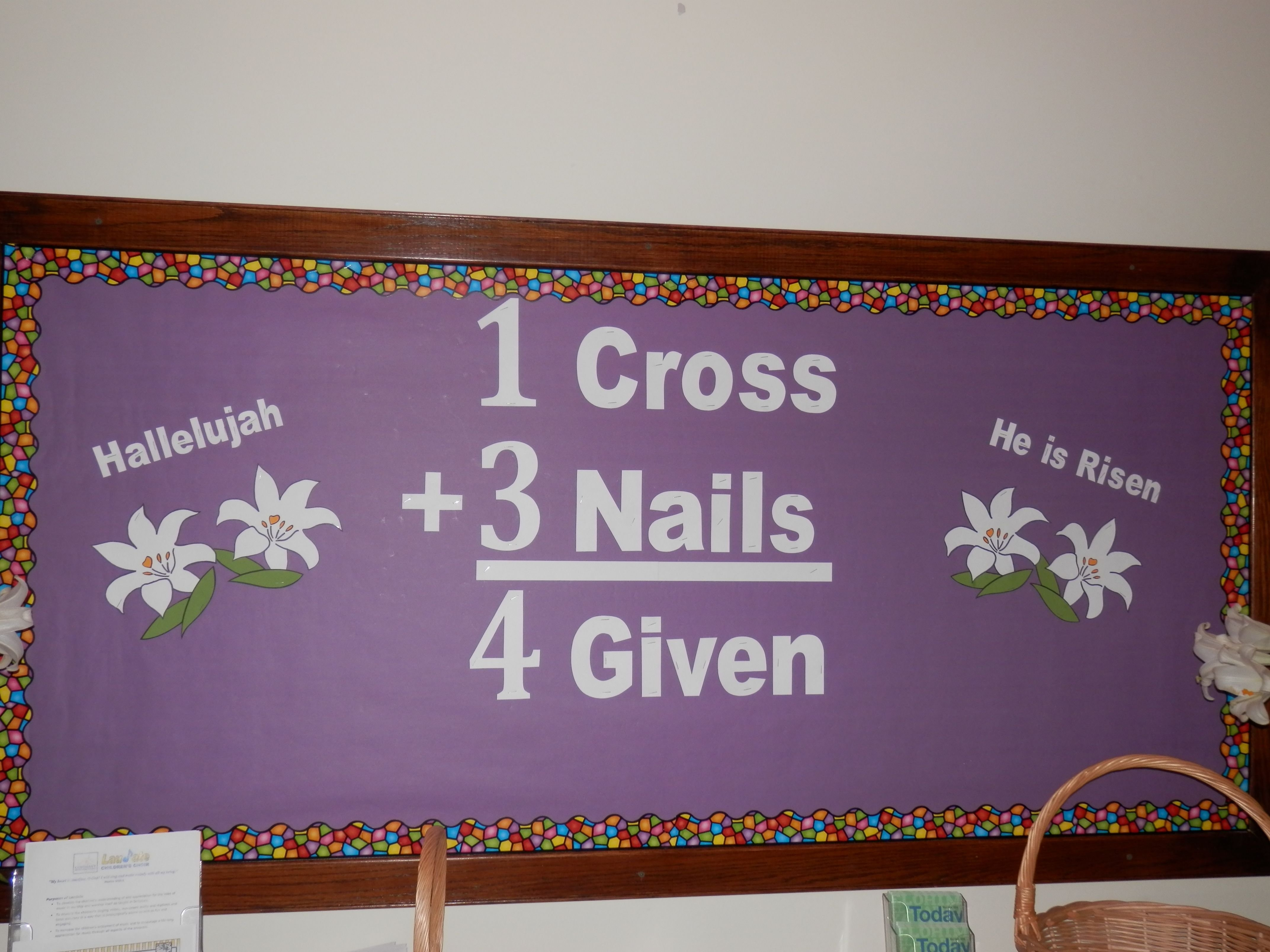 10 Most Recommended Easter Bulletin Board Ideas For Church easter pinteres 2020