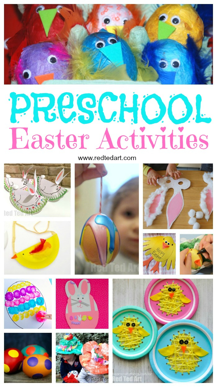 10 Nice Sunday School Ideas For Toddlers easter preschool crafts red ted arts blog 2020