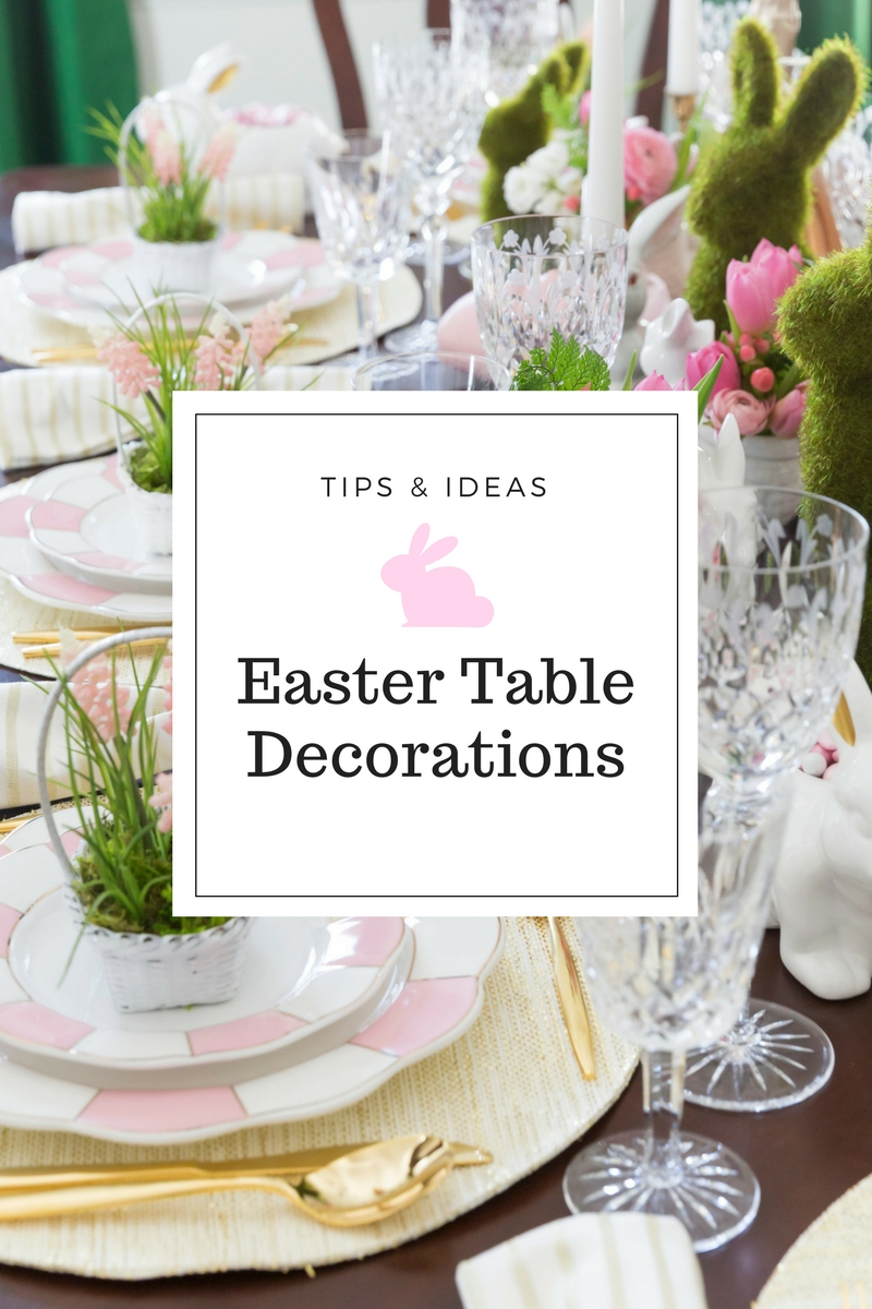 10 Best Easter Decorating Ideas Table Setting easter table decorations place setting ideas pizzazzerie 2021
