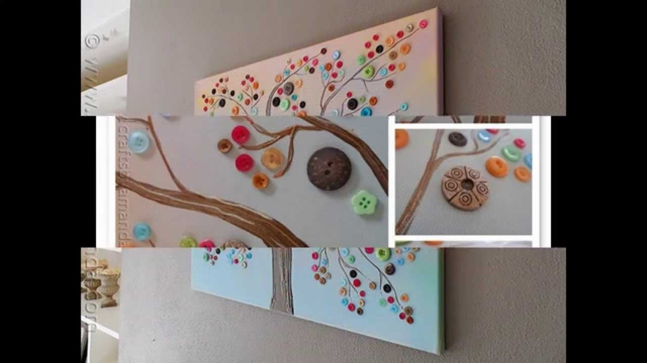 easy and simple diy canvas painting ideas for kids - youtube