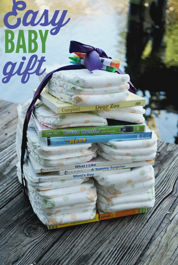 10 Pretty Diaper Ideas For Baby Shower Gift easy baby gift ideas diapers tower and wraps 2020