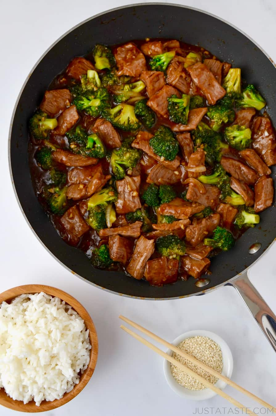10 Lovely Beef Recipe Ideas For Dinner easy beef and broccoli just a taste 2021