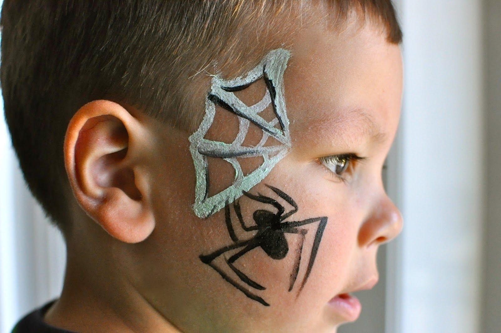 10 Fabulous Easy Face Painting Ideas For Kids Cheeks easy boy face painting designs for beginners face paint design